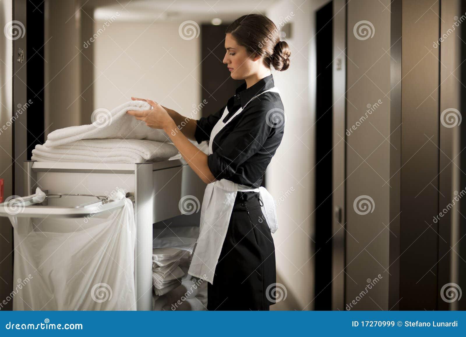 Domestica sul lavoro