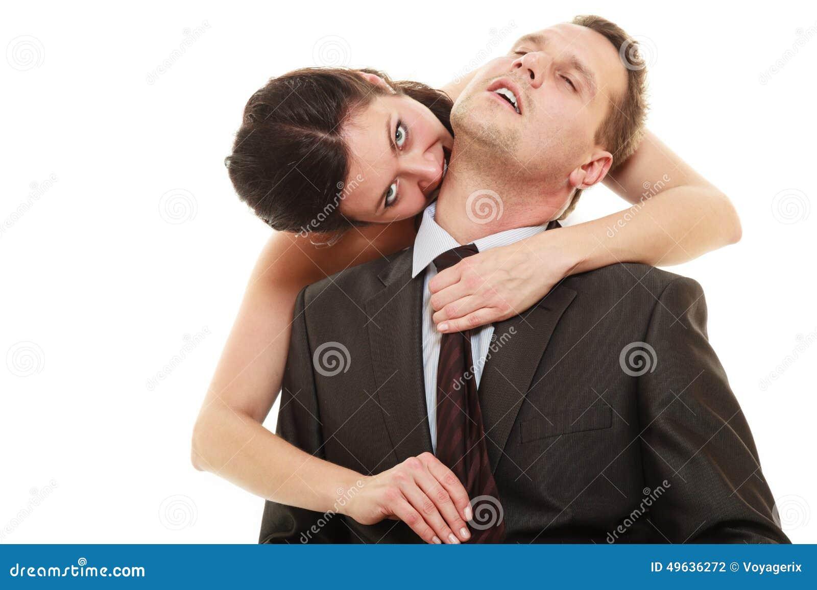 Dominant Bride With Husband Stock Photo - Image: 49636272