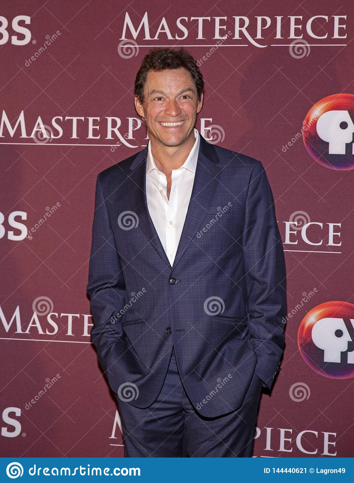 Dominic West at New York Premiere of Les Miserables