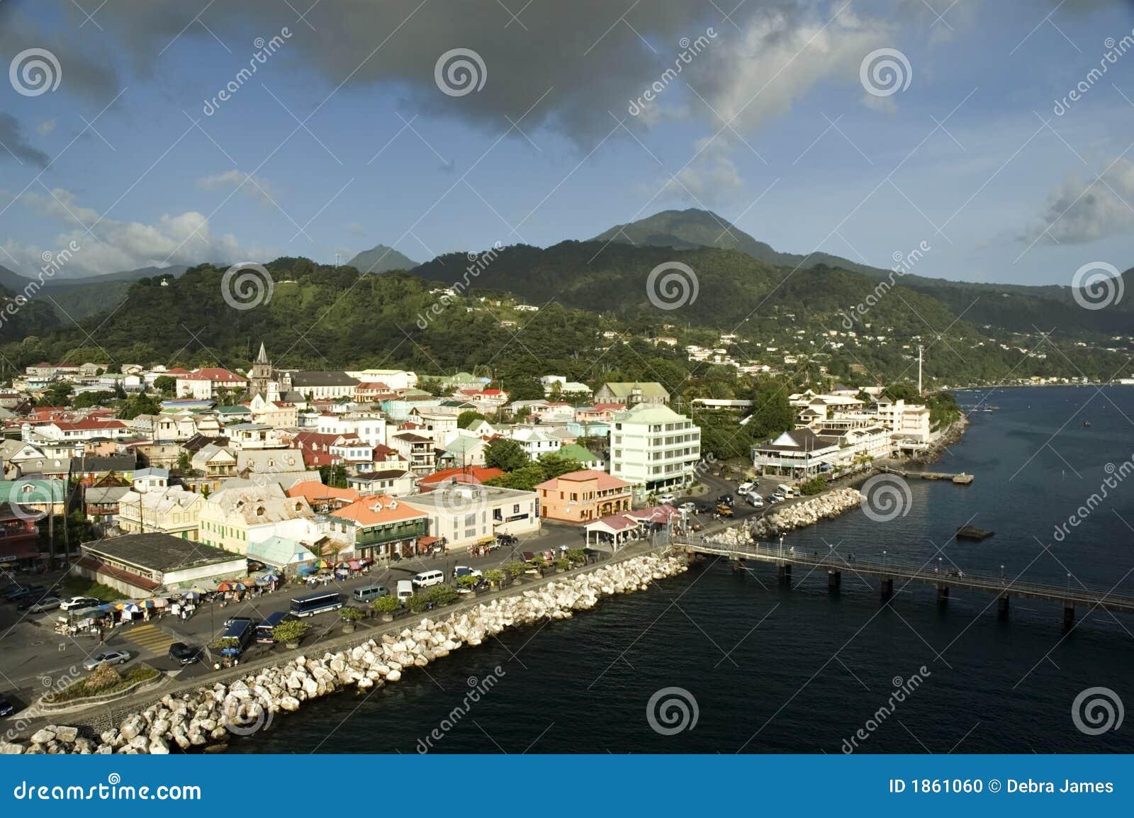 Dominica światła słonecznego wioski