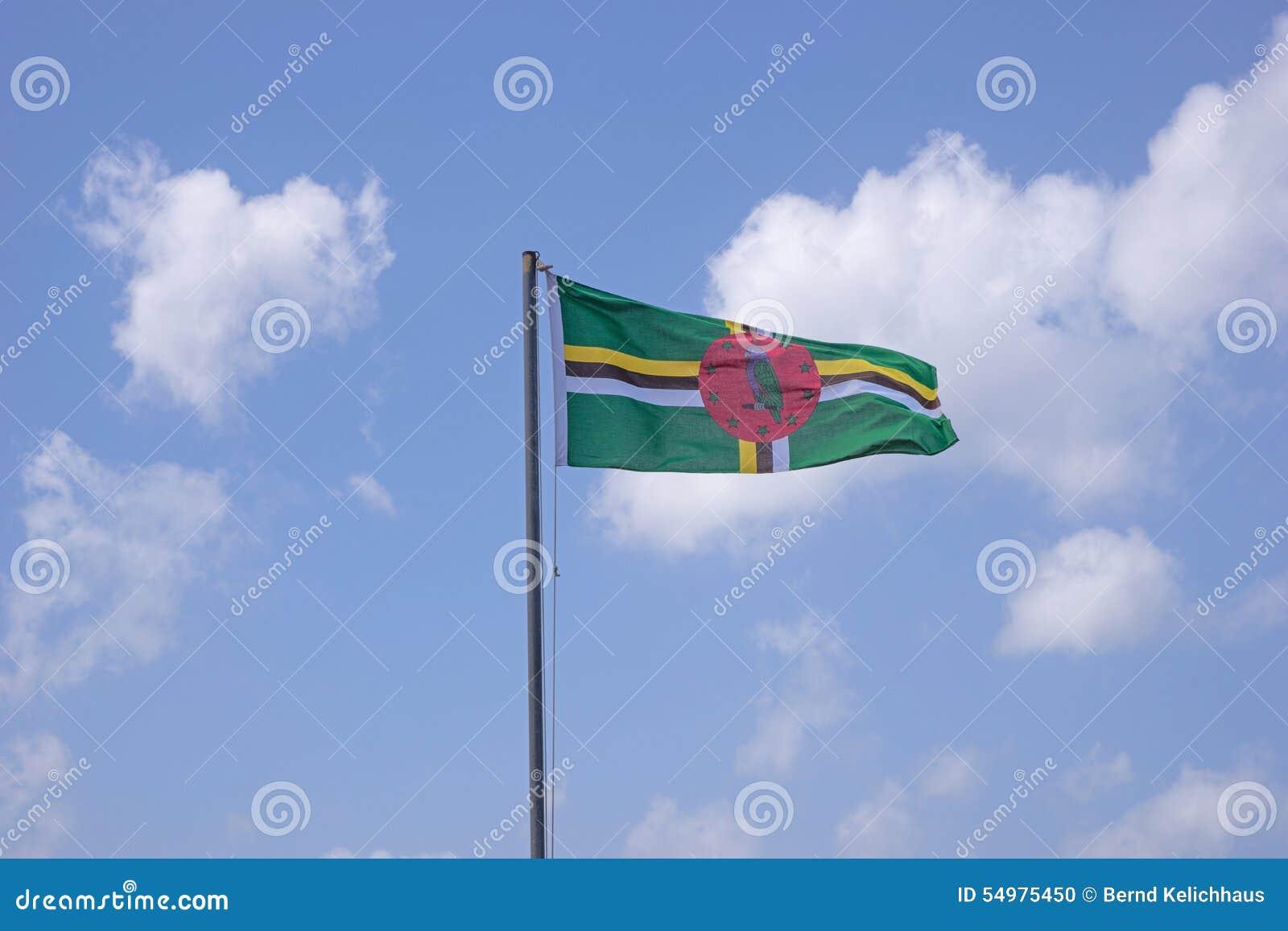 Dominica flagga
