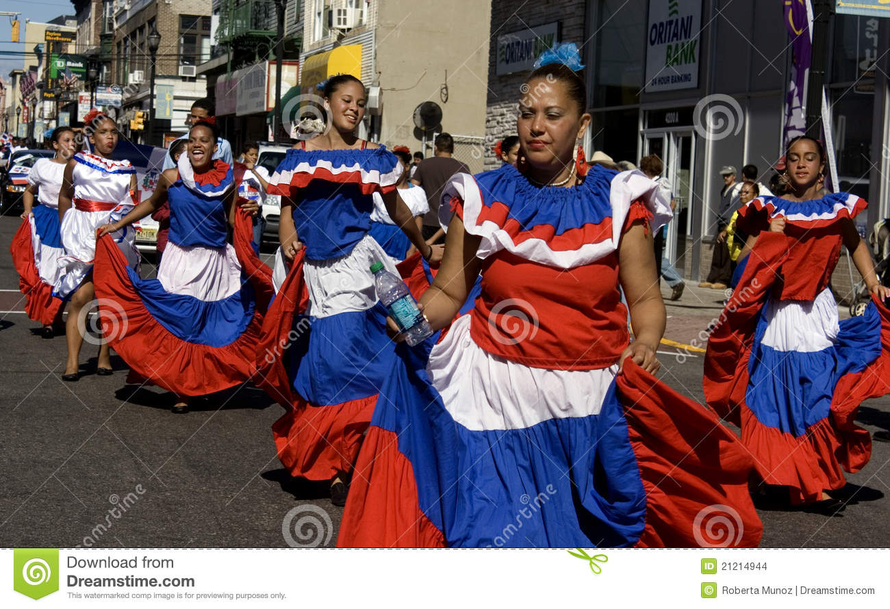 Dominican Day Parade Editorial Stock Image Image Of Urban - Dominican republic independence day