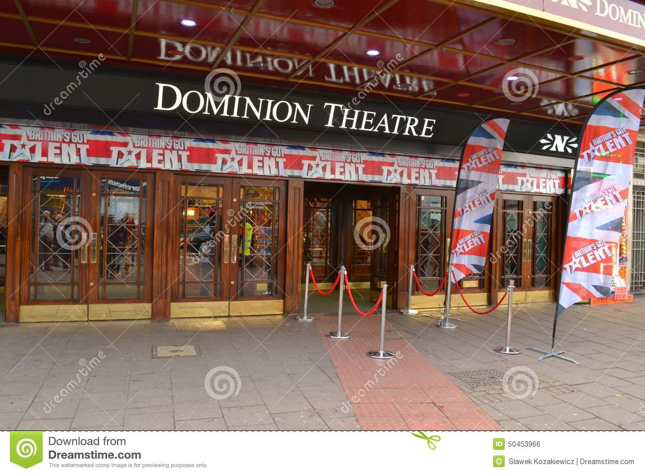 Dominion Theatre Britains Got Talent
