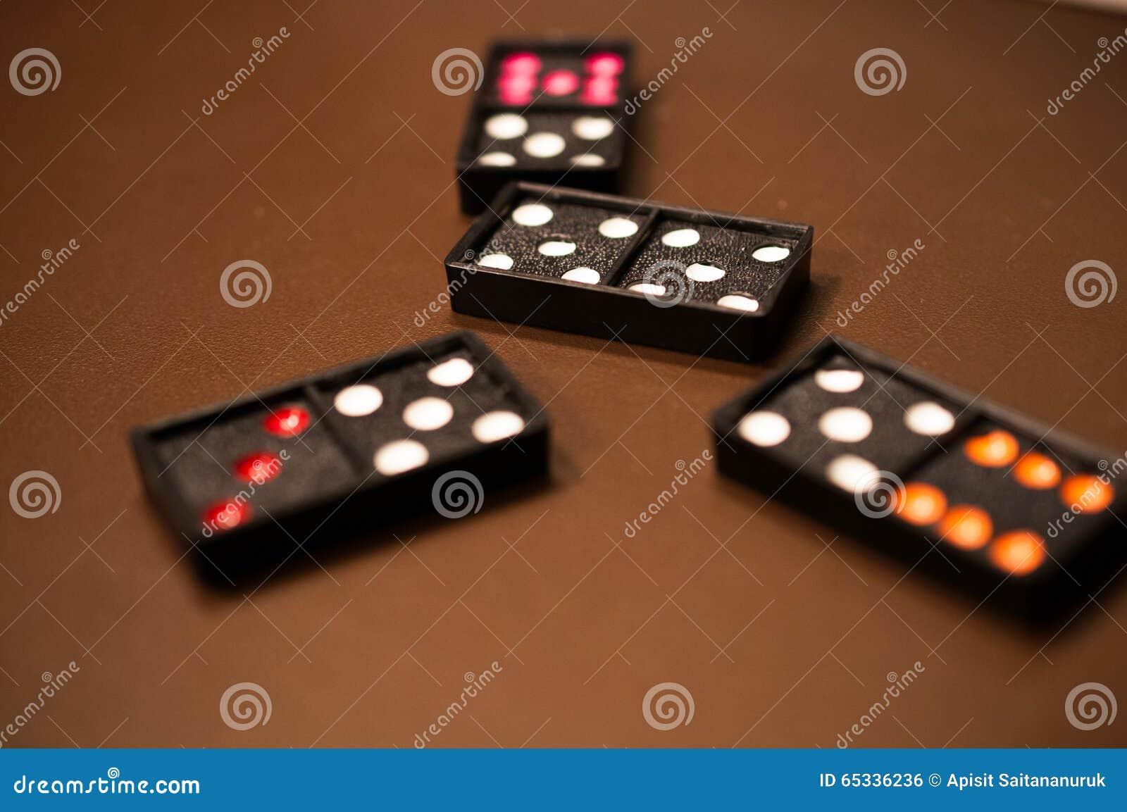 Domino Stock Photo - Image: 65336236