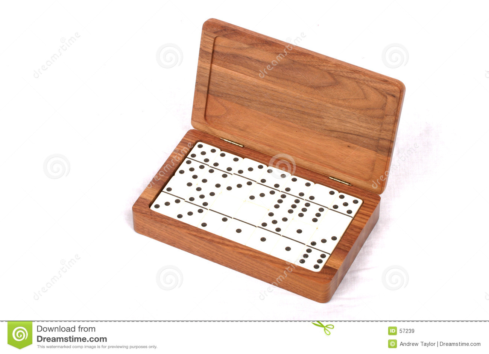 Download Dominoe θέστε στοκ εικόνα. εικόνα από ξύλινος, σημεία, gamble - 57239
