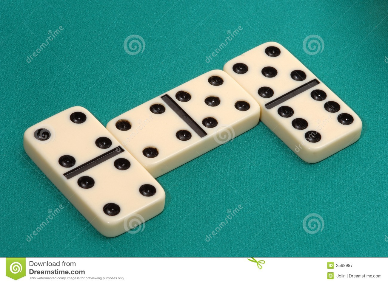 Dominoes Game Royalty Free Stock Photography - Image: 2568987