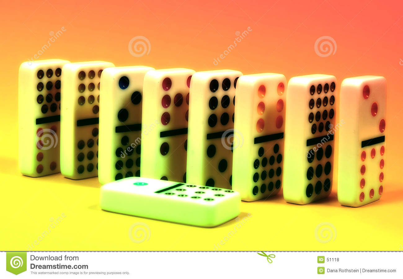 Download Dominos abstraits photo stock. Image du enjeu, domino, solution - 51118
