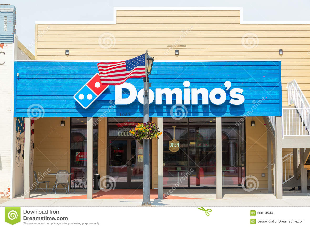 Domino S Pizza Car Flag