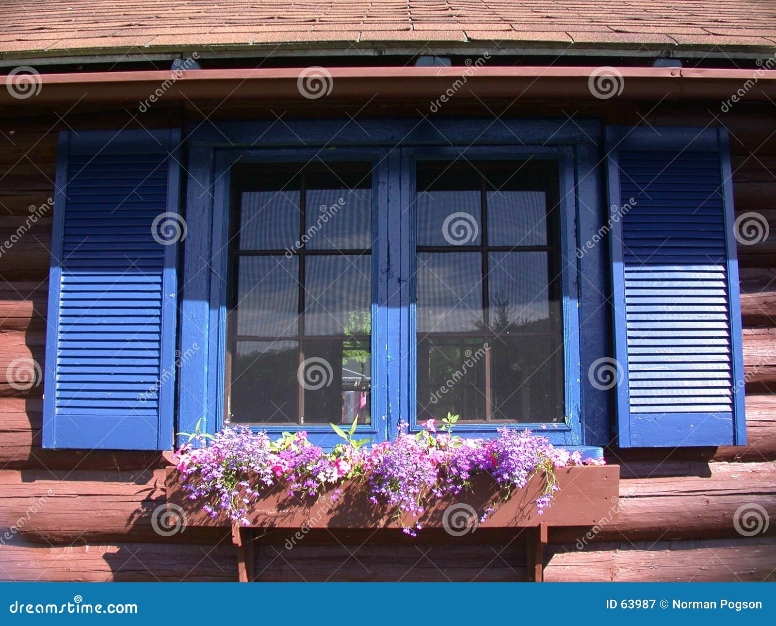 Domki okno