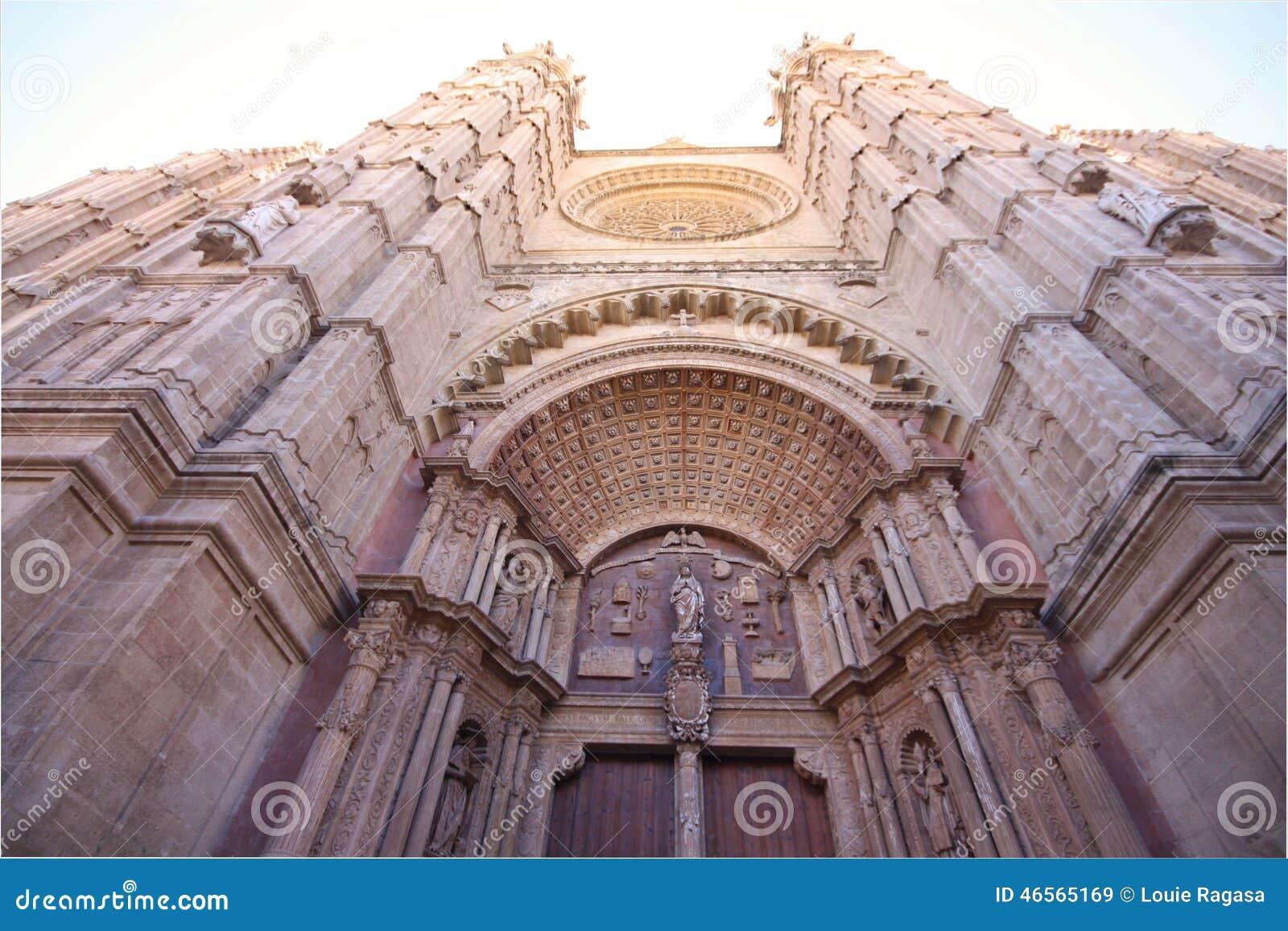 Domkyrka av Santa Maria av Palma De Mallorca - La Seu