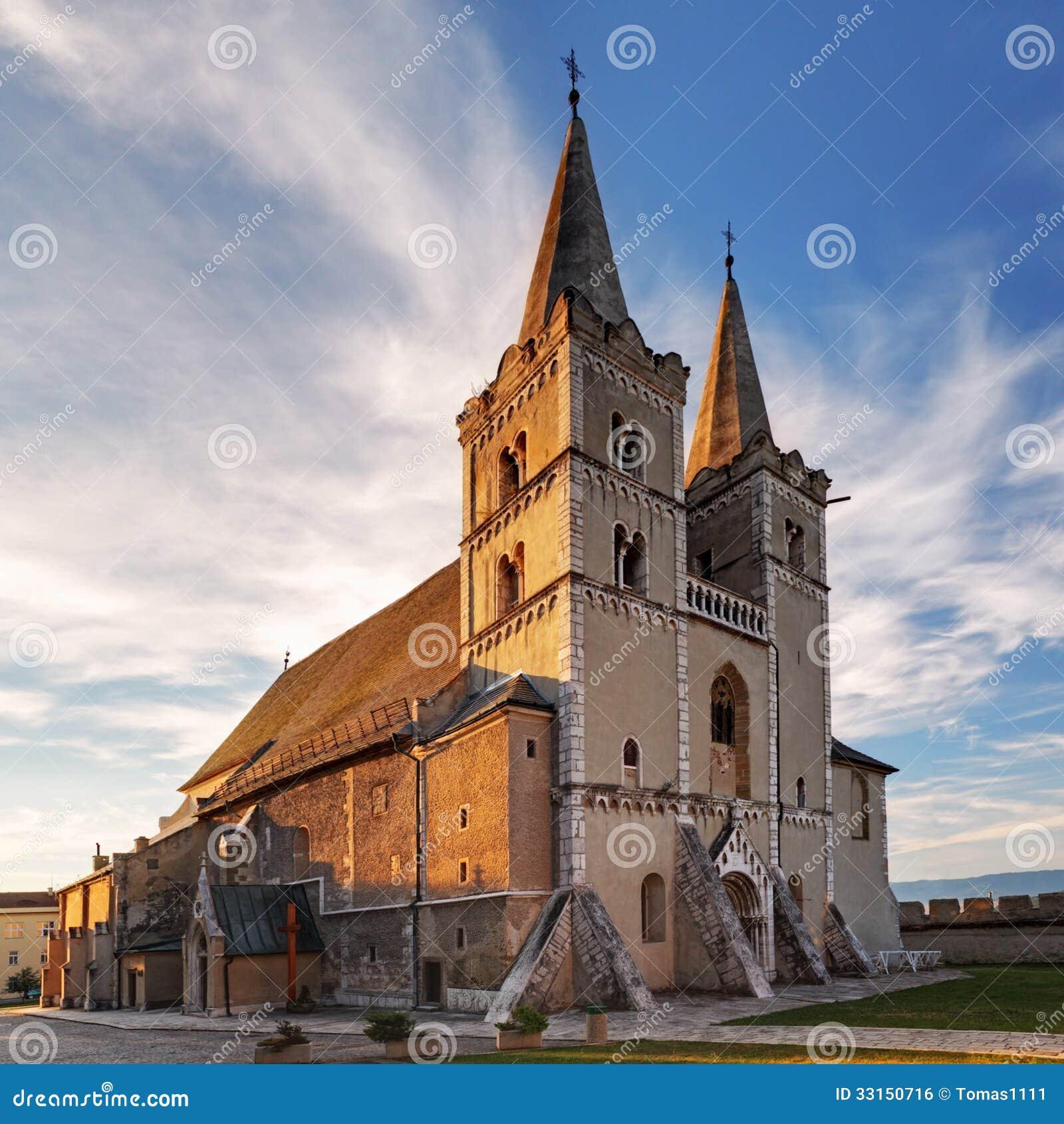 Domkyrka av St Martin, kapitel Spisska, Slovakien