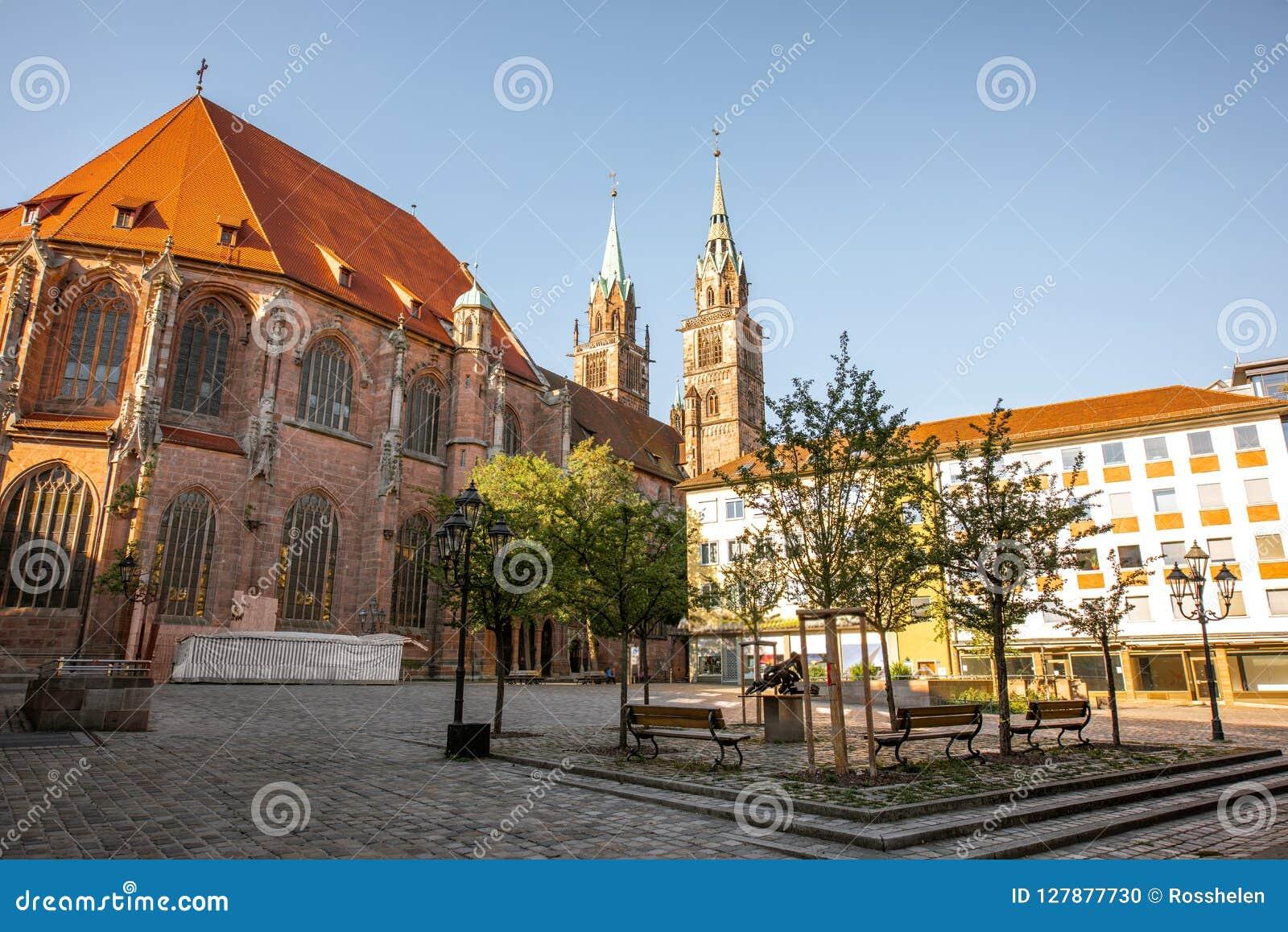Domkyrka i Nurnberg, Tyskland