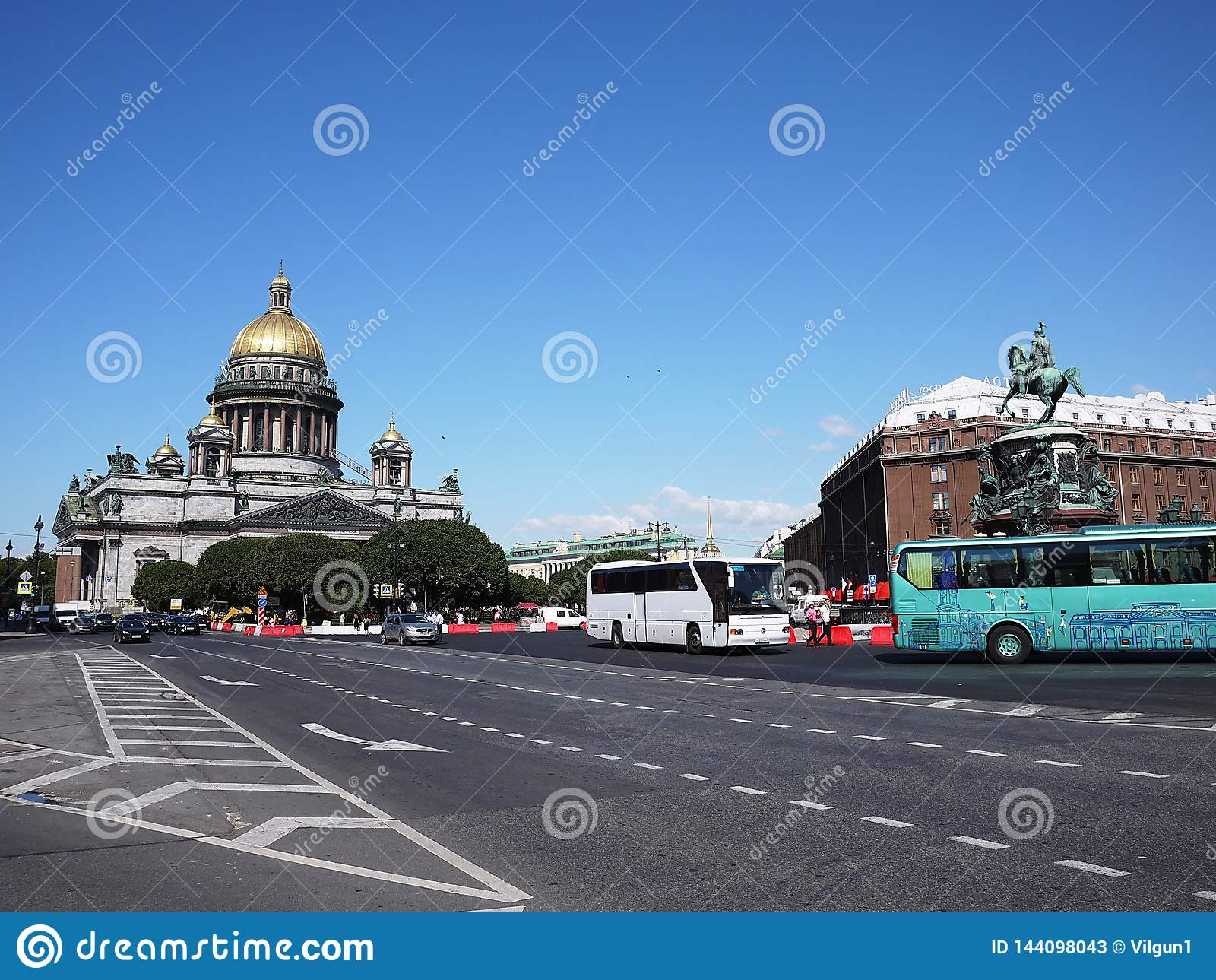 Domkyrka St Petersburg för St Isaacs Havshuvudstaden av Ryssland Detaljer och närbild