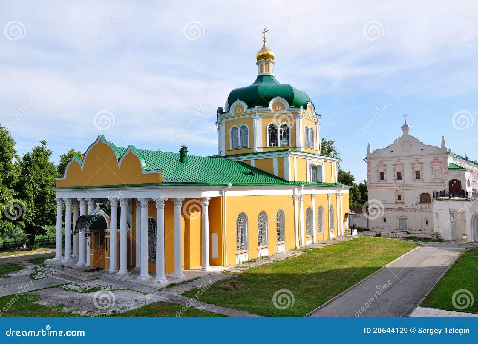 Domkyrkakremlin nativity russia ryazan