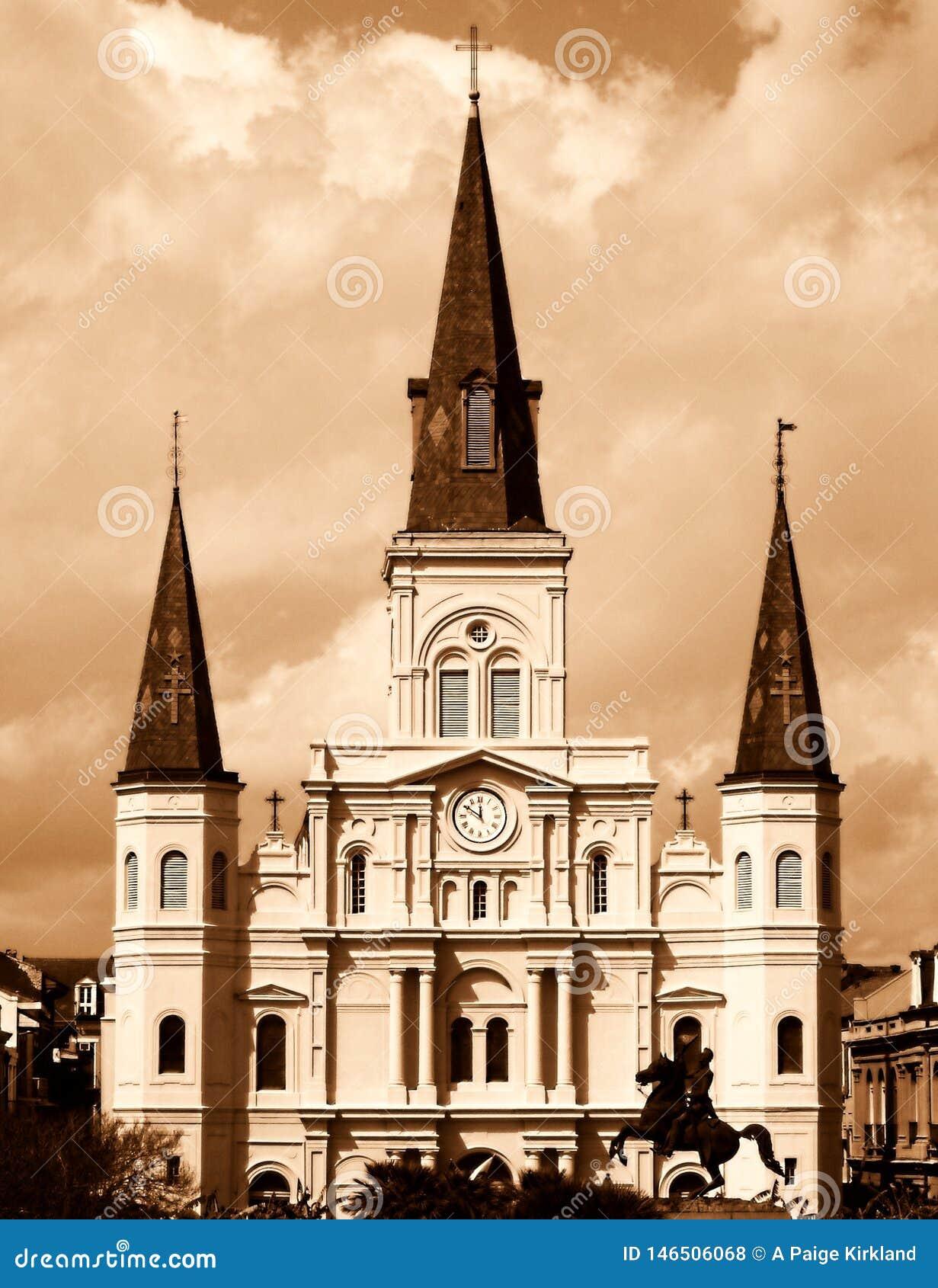 Domkyrkalouis New Orleans st