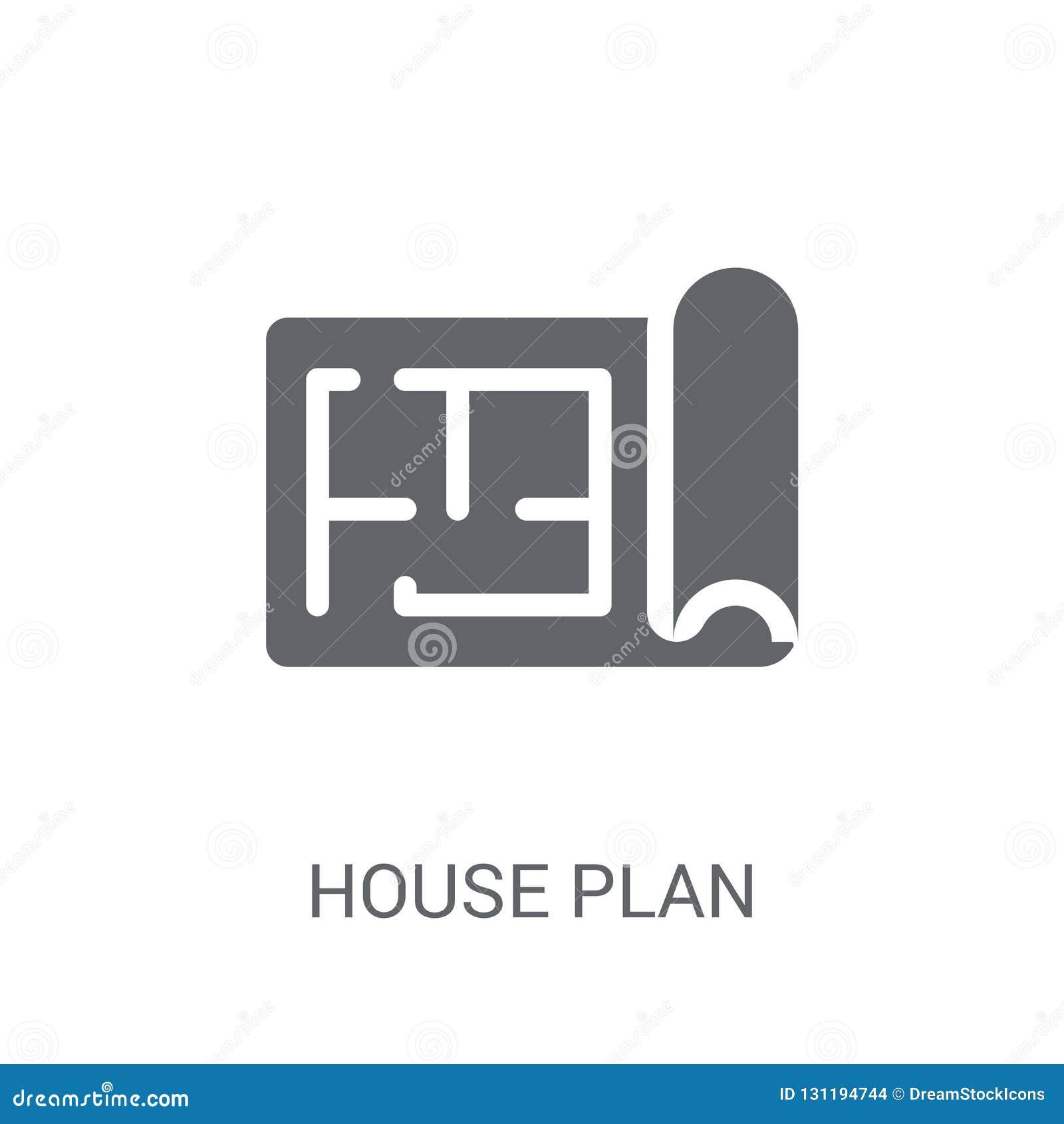 Domowa plan ikona