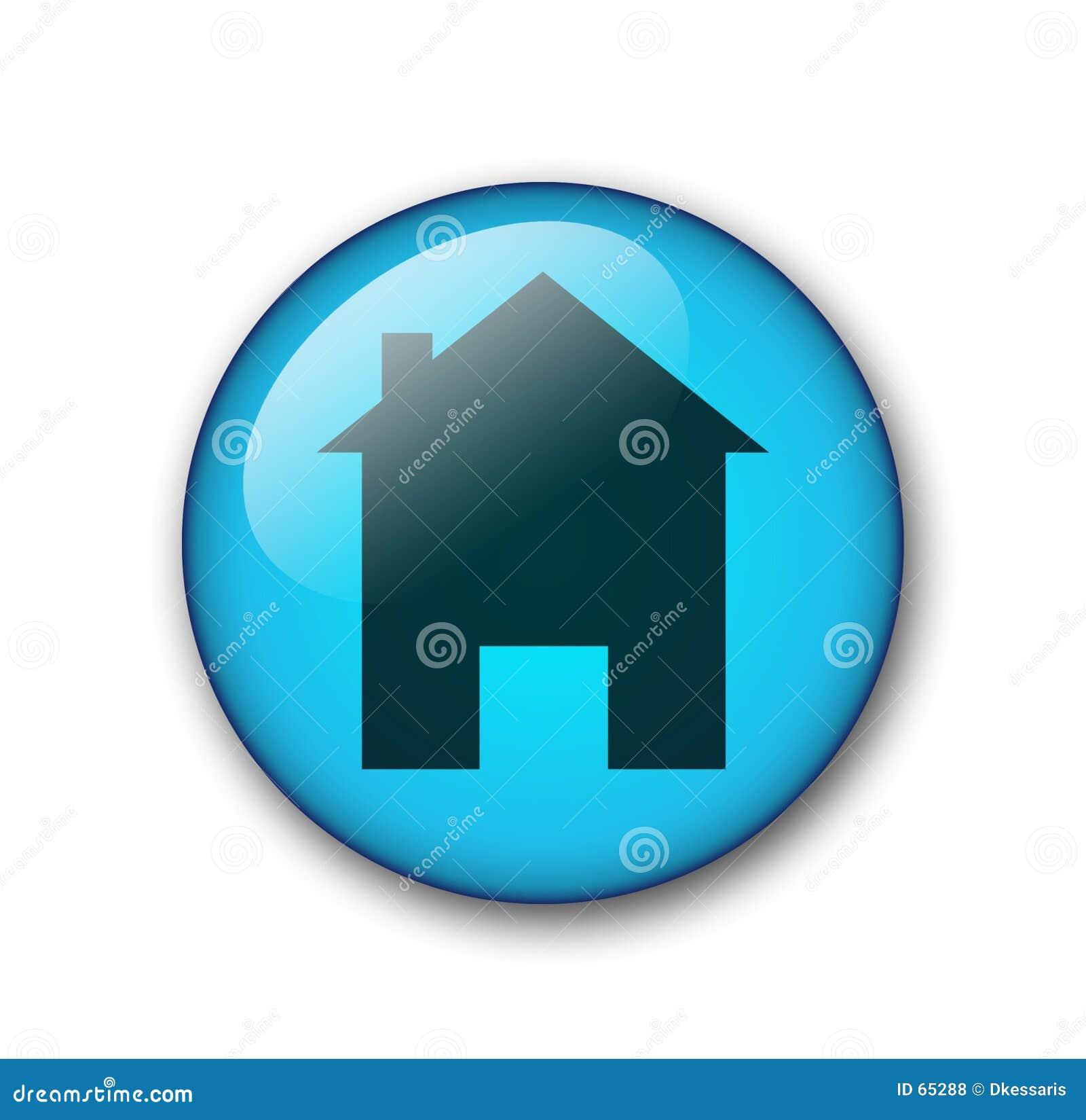 Domowa sieci przycisk