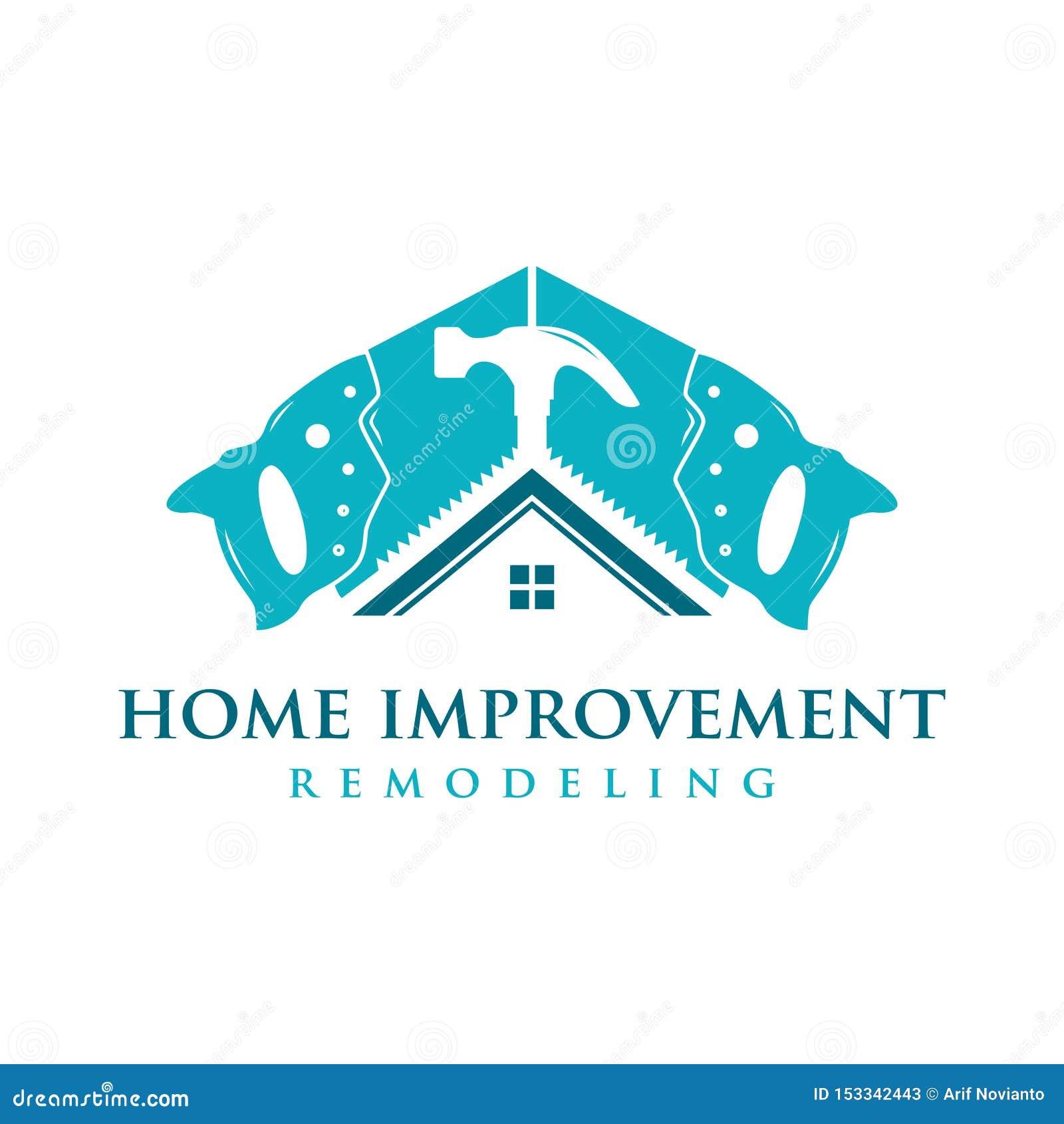 Domowego ulepszenia logo
