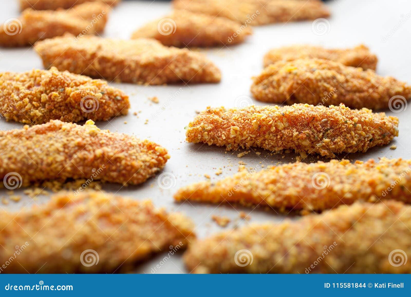 Domowej roboty kurczaków palce