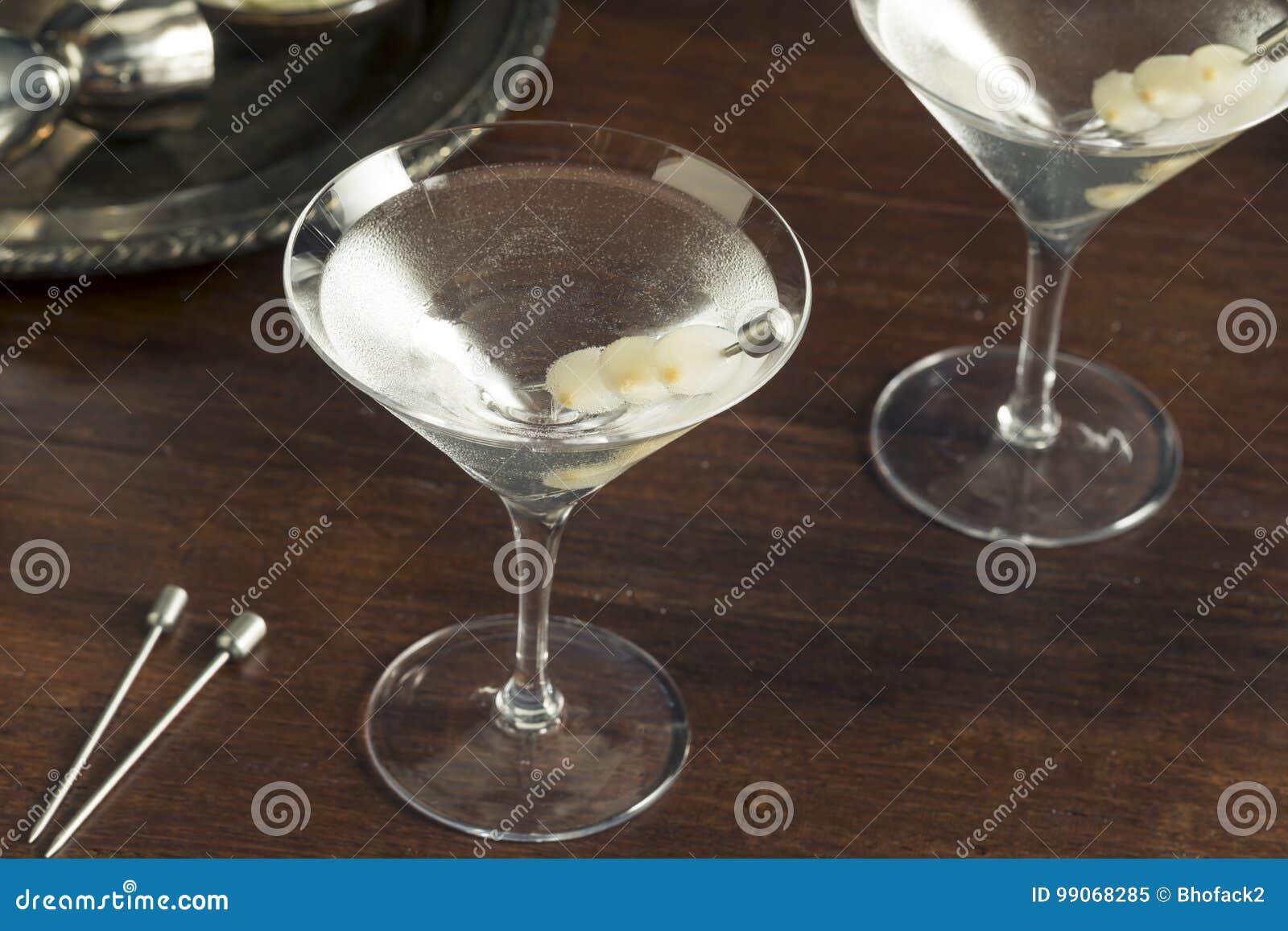 Domowej roboty Pijacki Gibson Martini