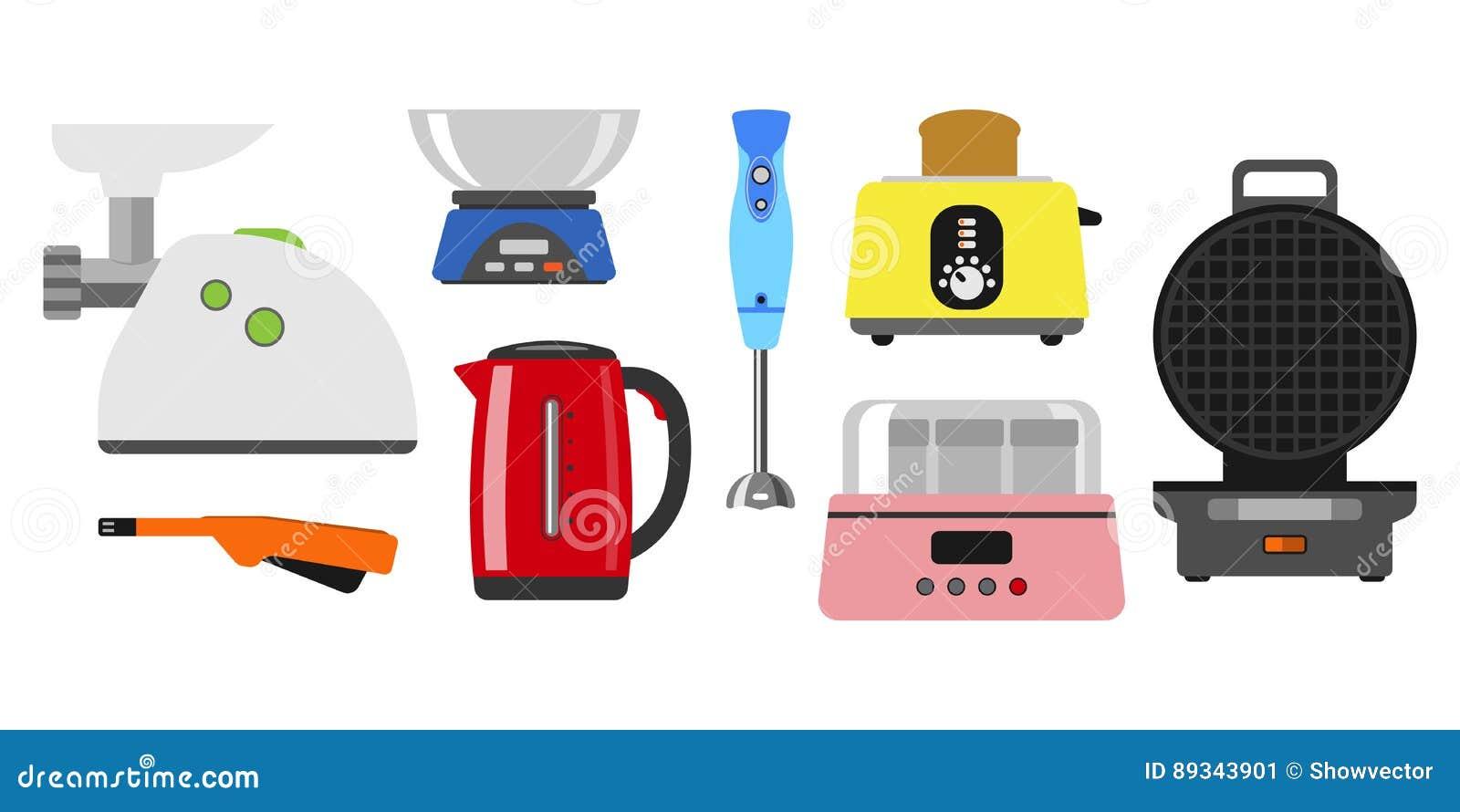 Domowi Urządzenia Gotuje Kuchni Wyposażenia I Mieszkania