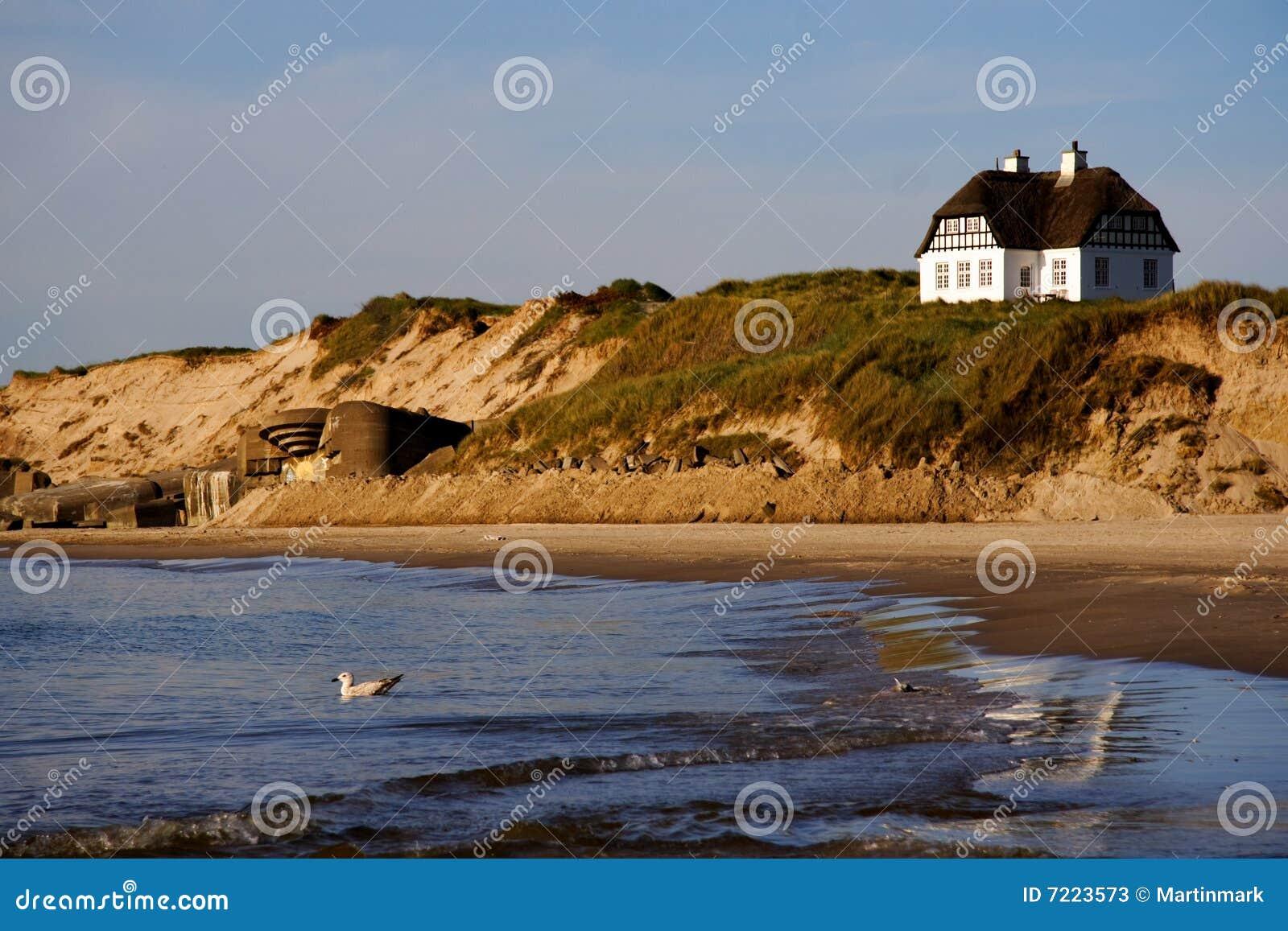 Domowy Denmark plażowy biel