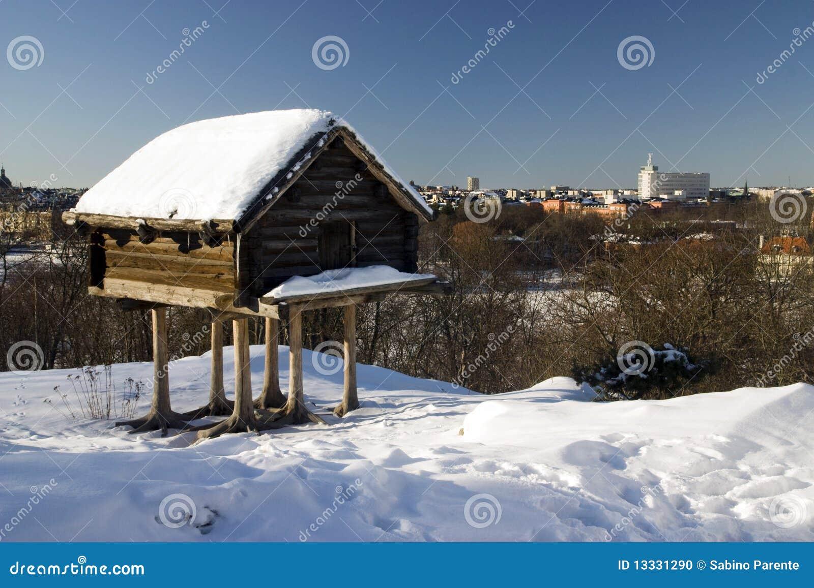 Domowy drewniany