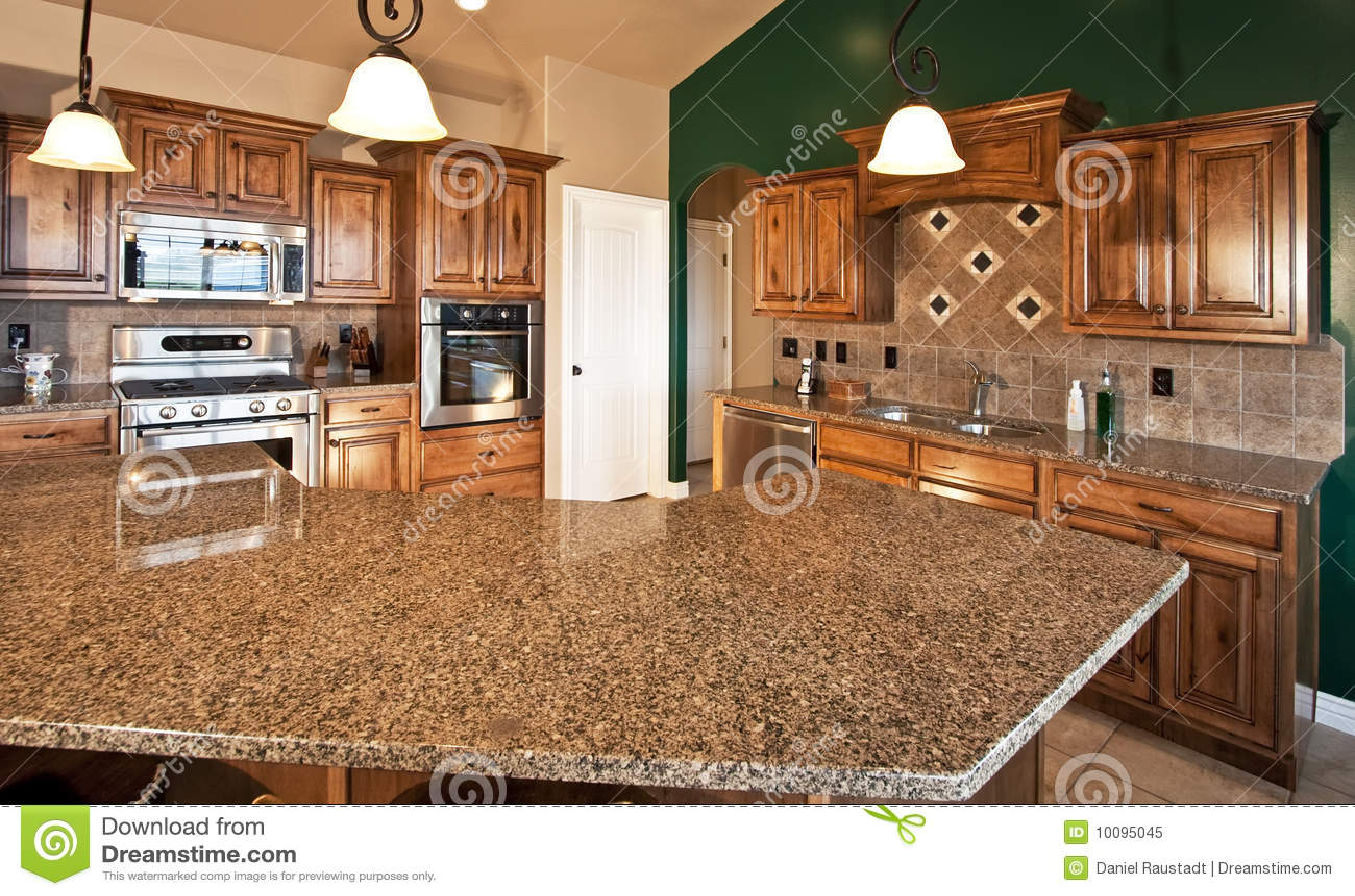Domowy kuchenny nowożytny nowy