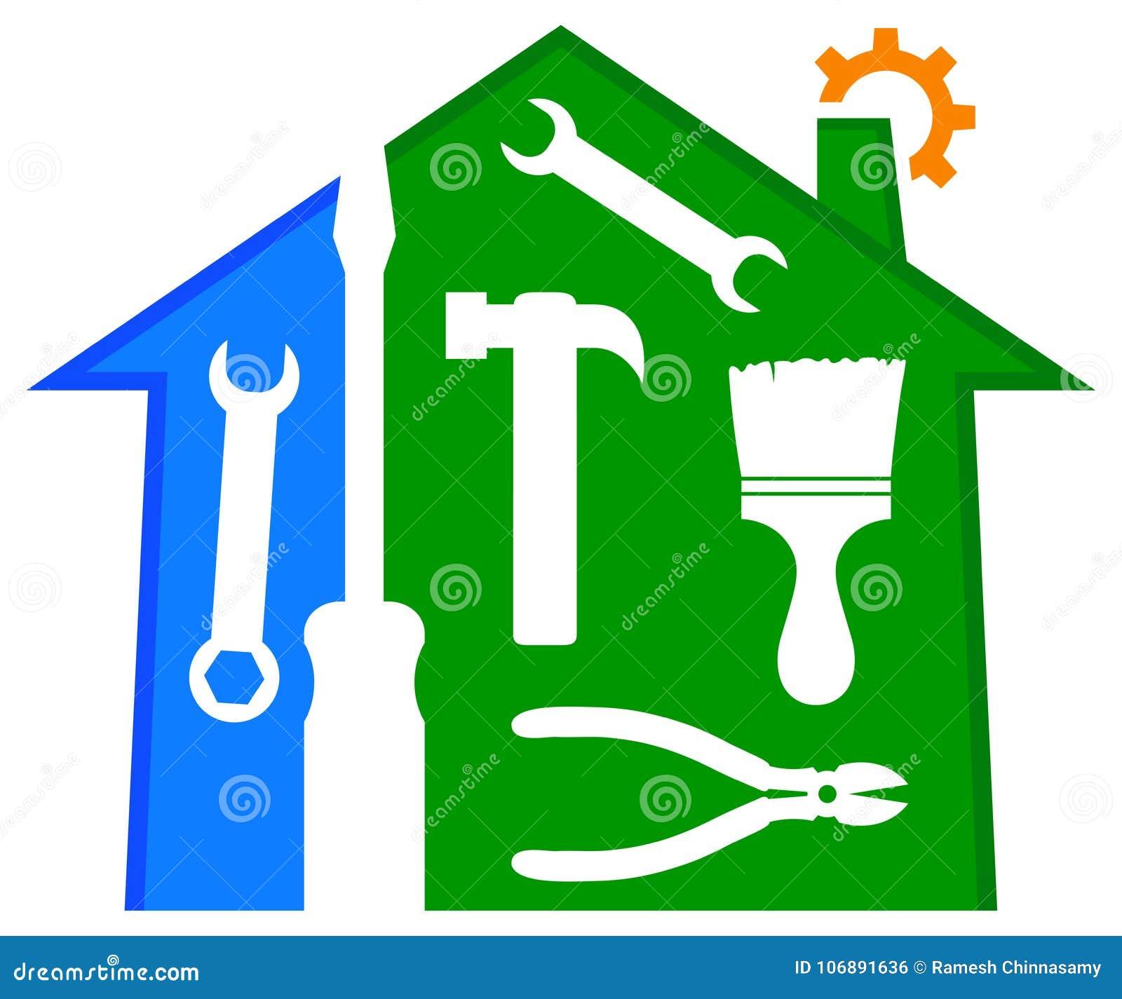 Domowy naprawy i ulepszenia logo