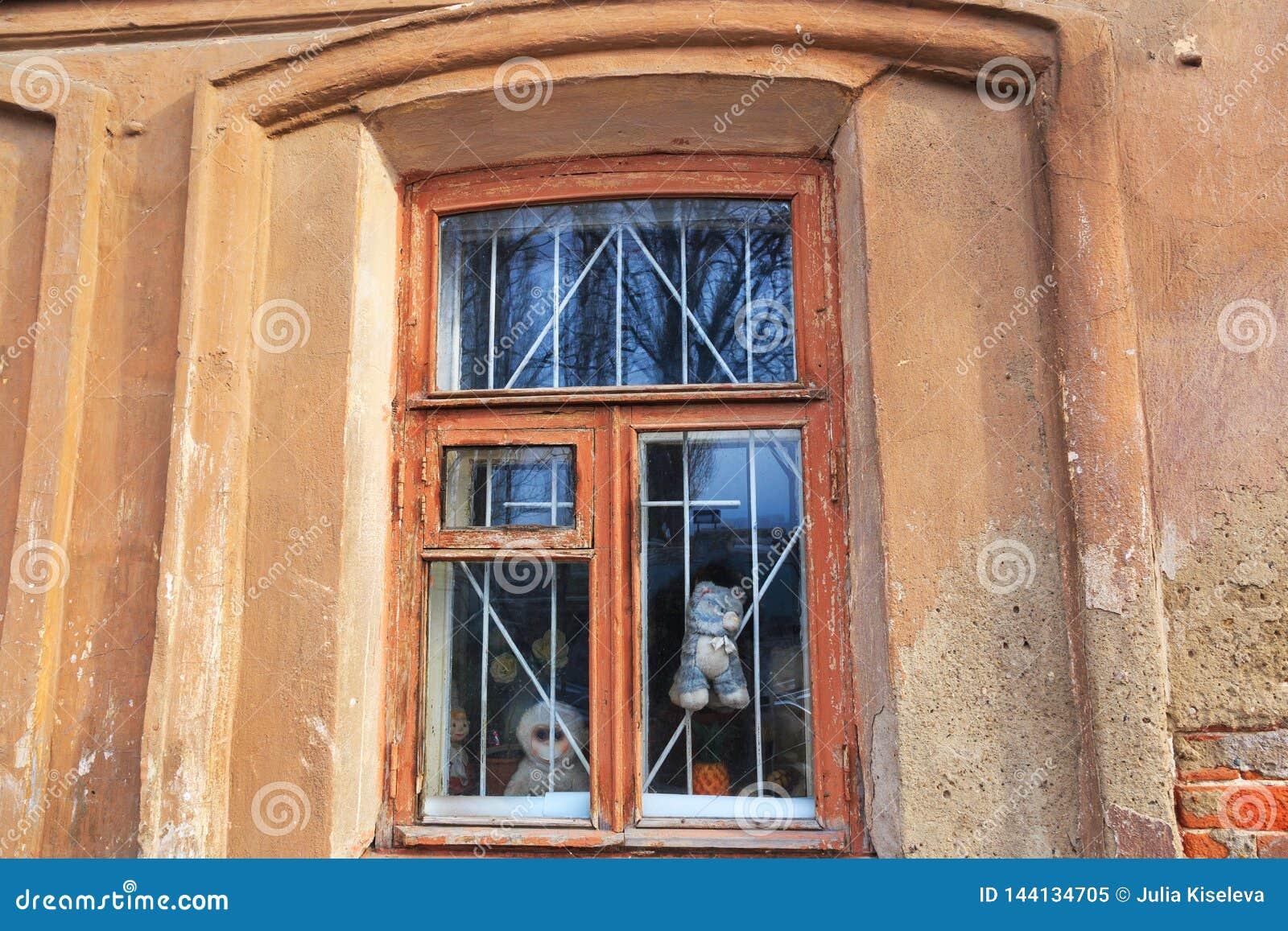 Domowy stary okno