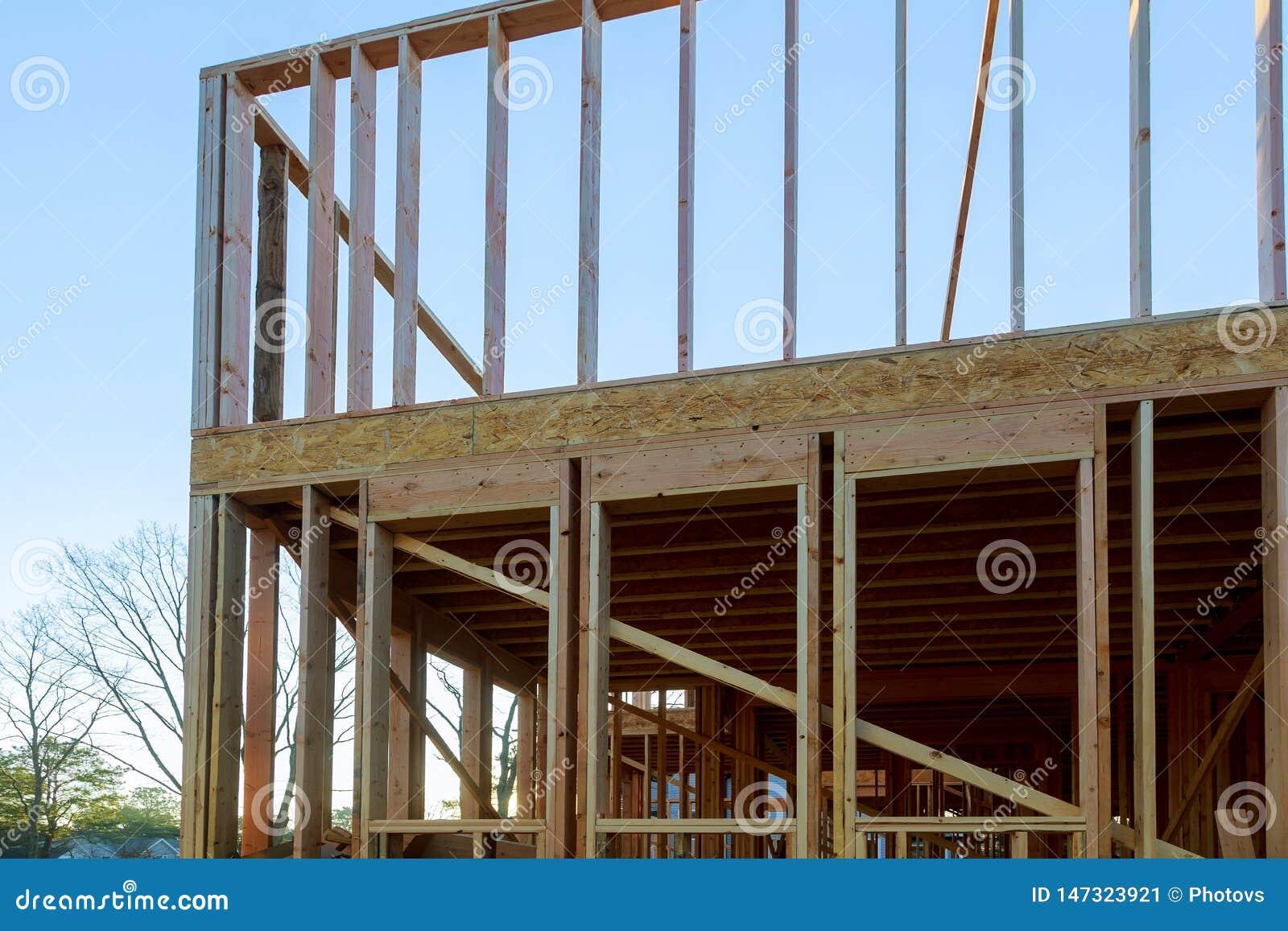 Domowy w budowie otoczka promień