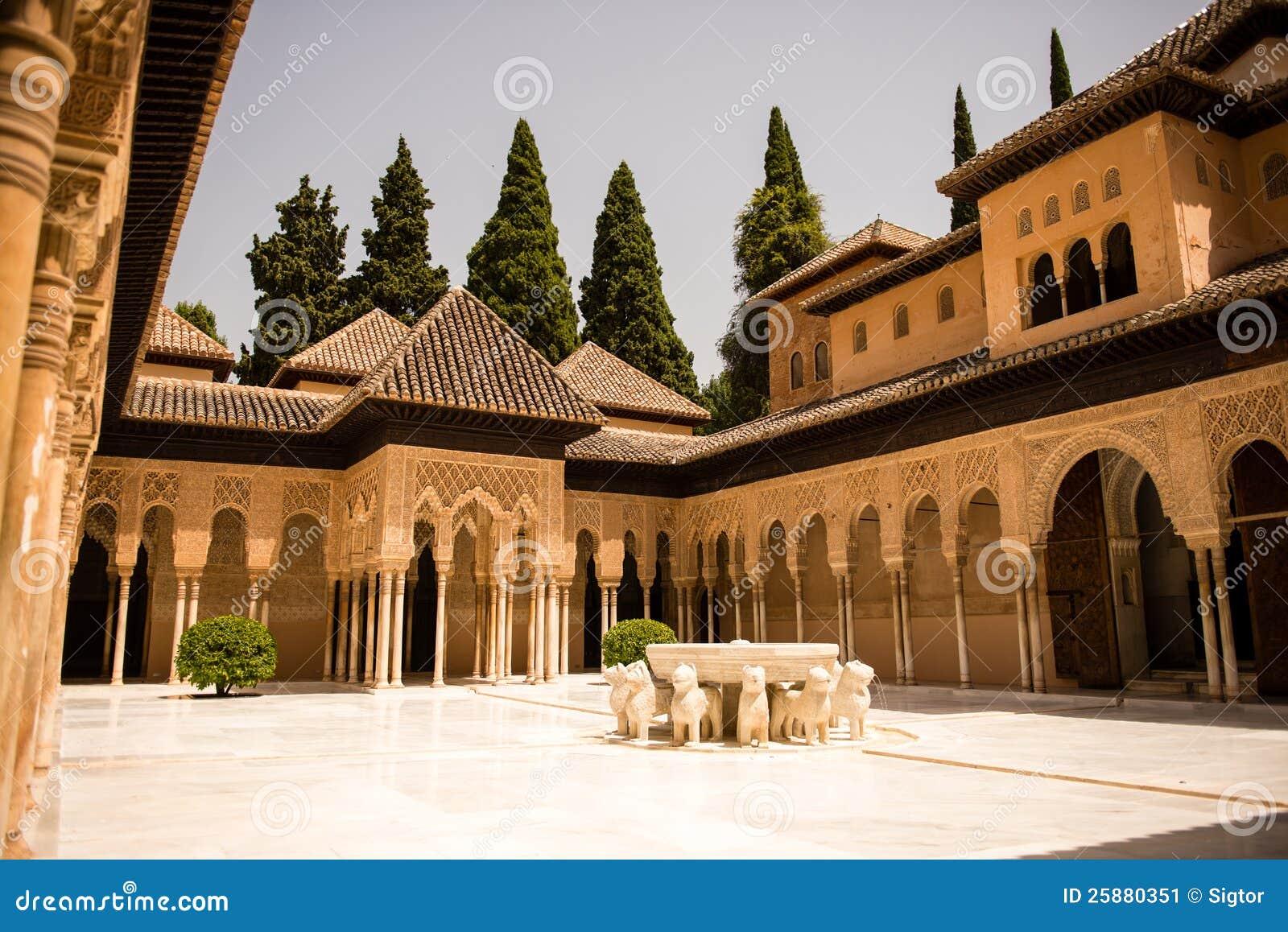 Domstol av lionsna Alhambra