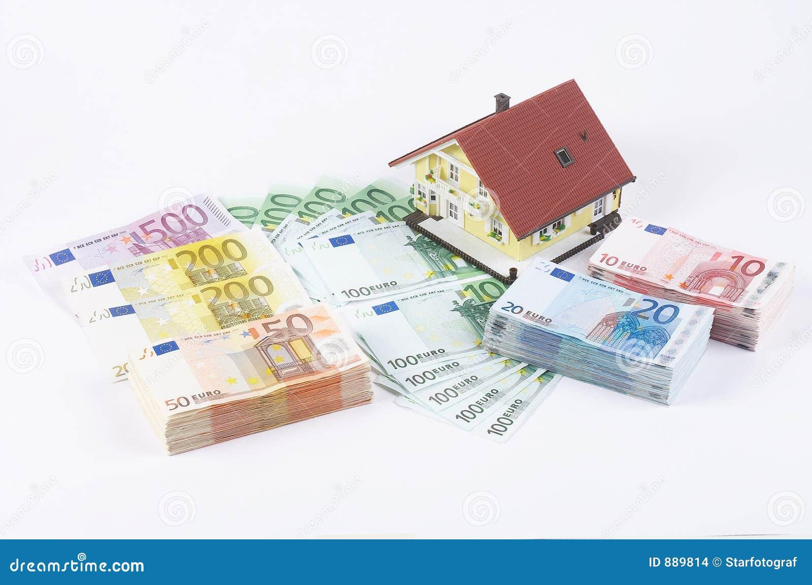 Domu banknotów model