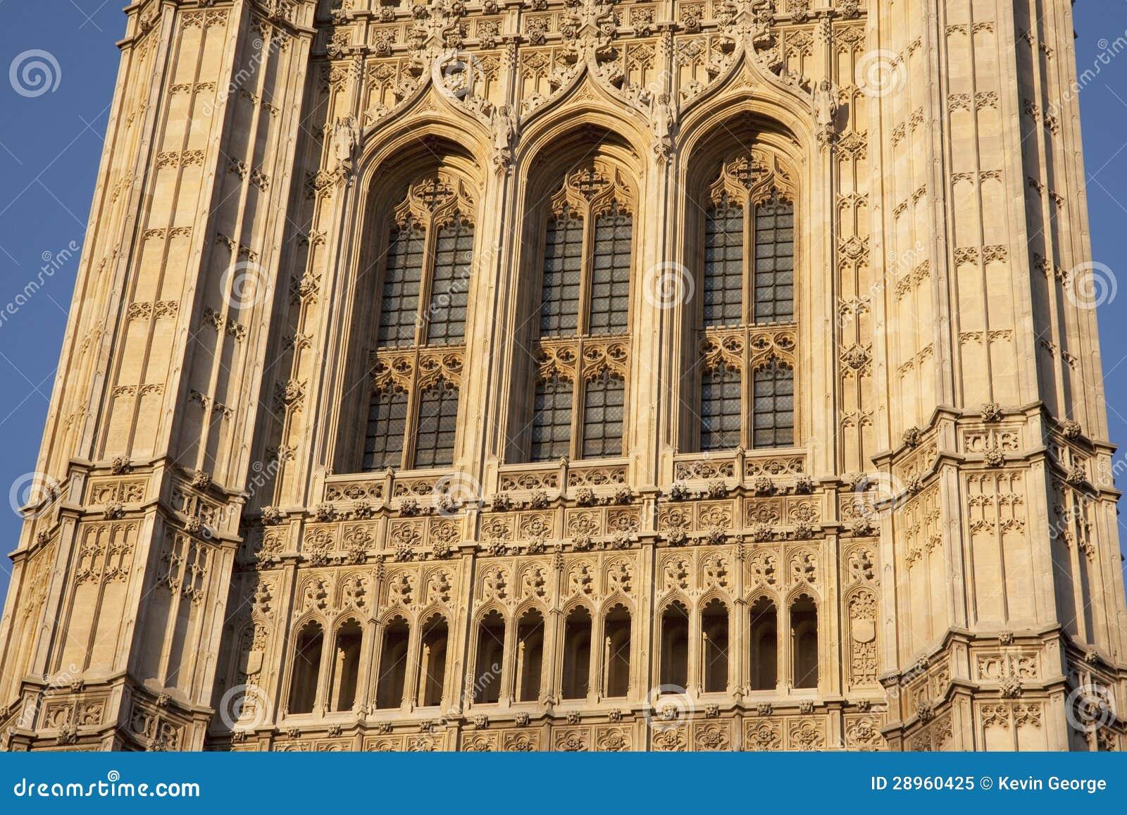 Domy parlament; Londyn