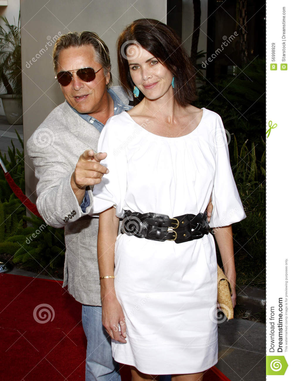 68c636dd20ad0 Don Johnson and Kelley Phleger at the Los Angeles premiere of  Funny People   held at the ArcLight Cinemas in Hollywood on July 20