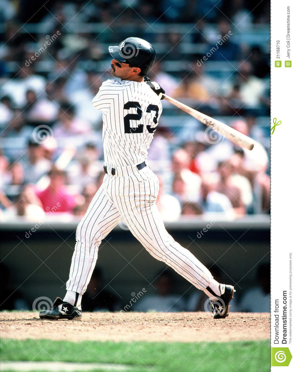 Don Mattingly New York Yankees Editorial Image Image