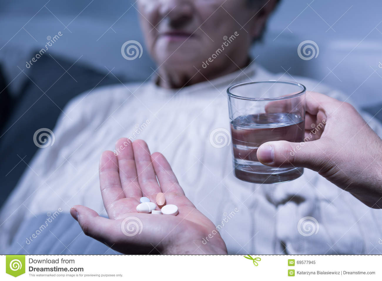 Don T Forget To Take Your Medicine Quotes: Don't Forget To Take Your Medication Tonight Stock Photo