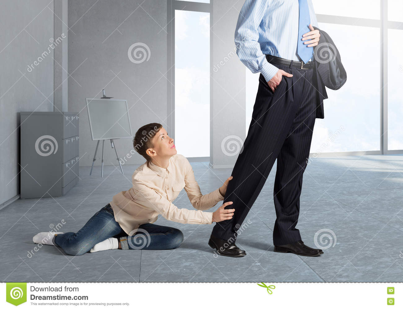 Dont Leave Me Alone Stock Photo Image Of Affectionate 73027082