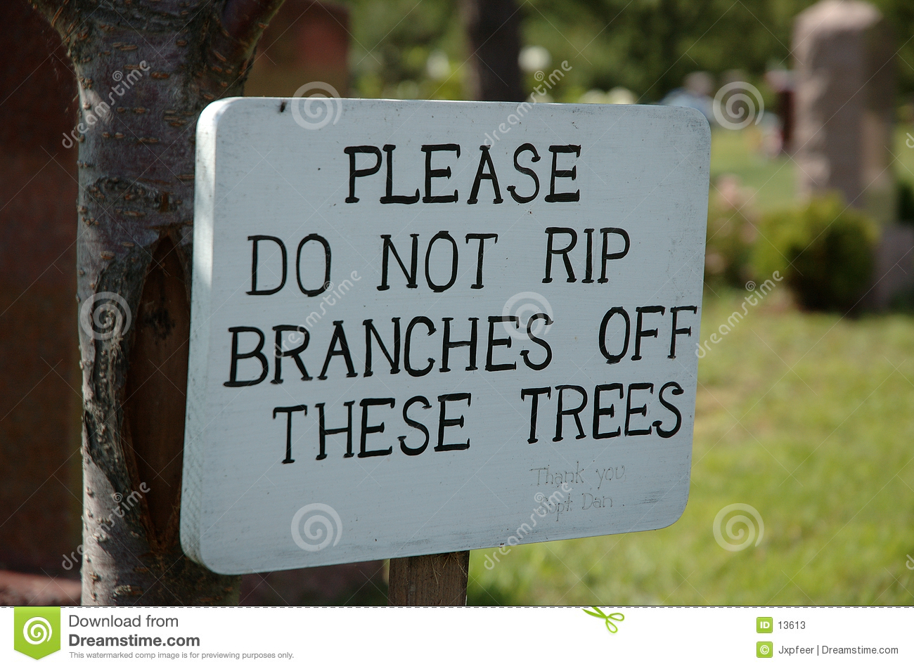 Don t rip branches