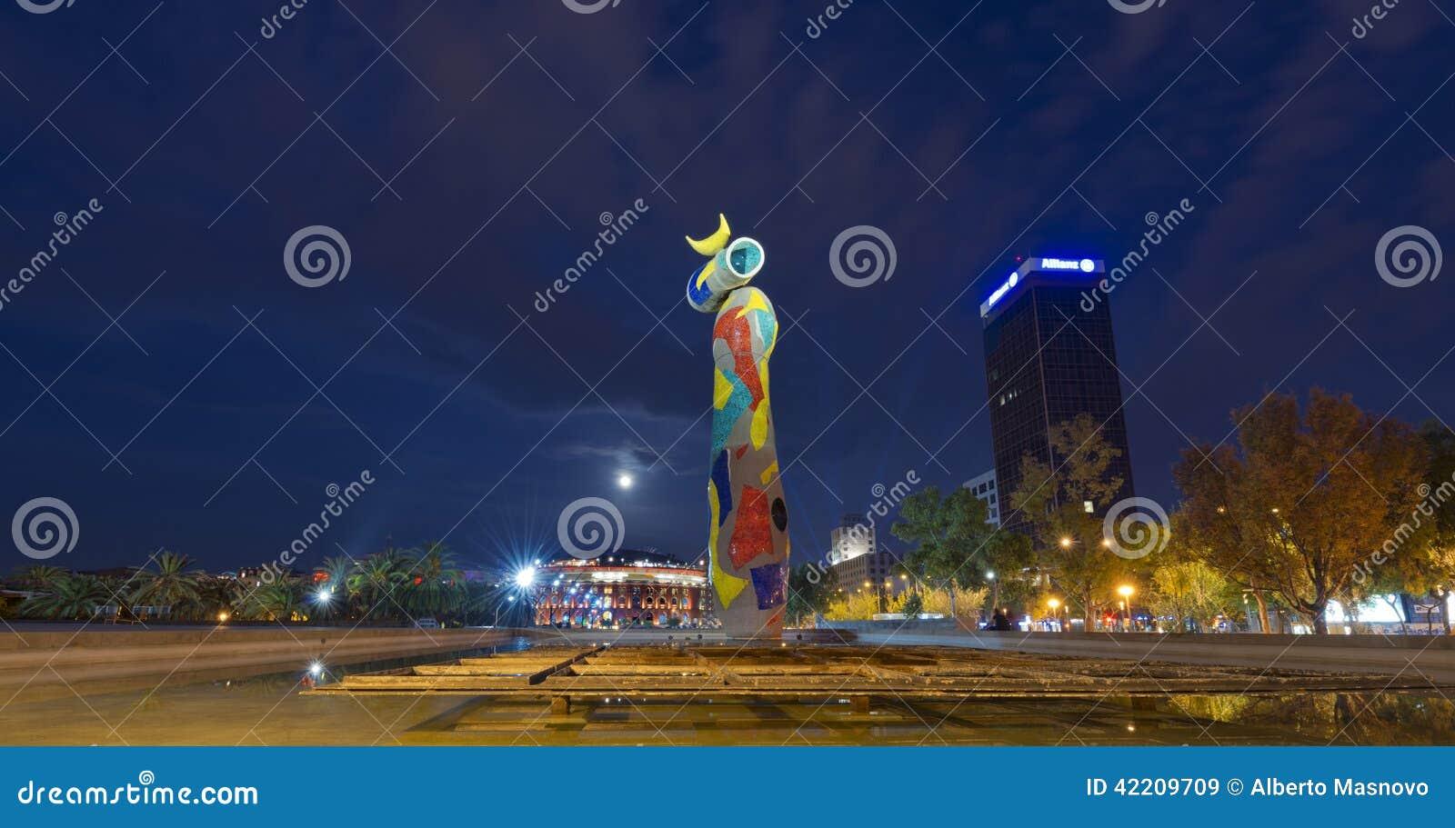 Dona ι Ocell - Joan Miro Βαρκελώνη