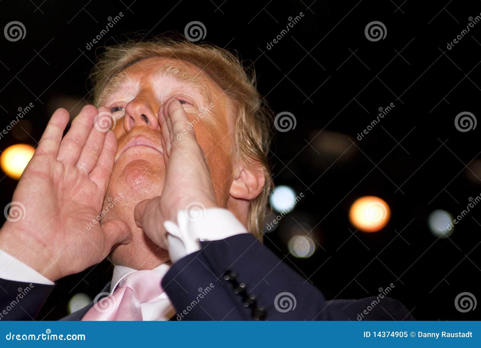 Donald aktiverade beträffande trumf dig