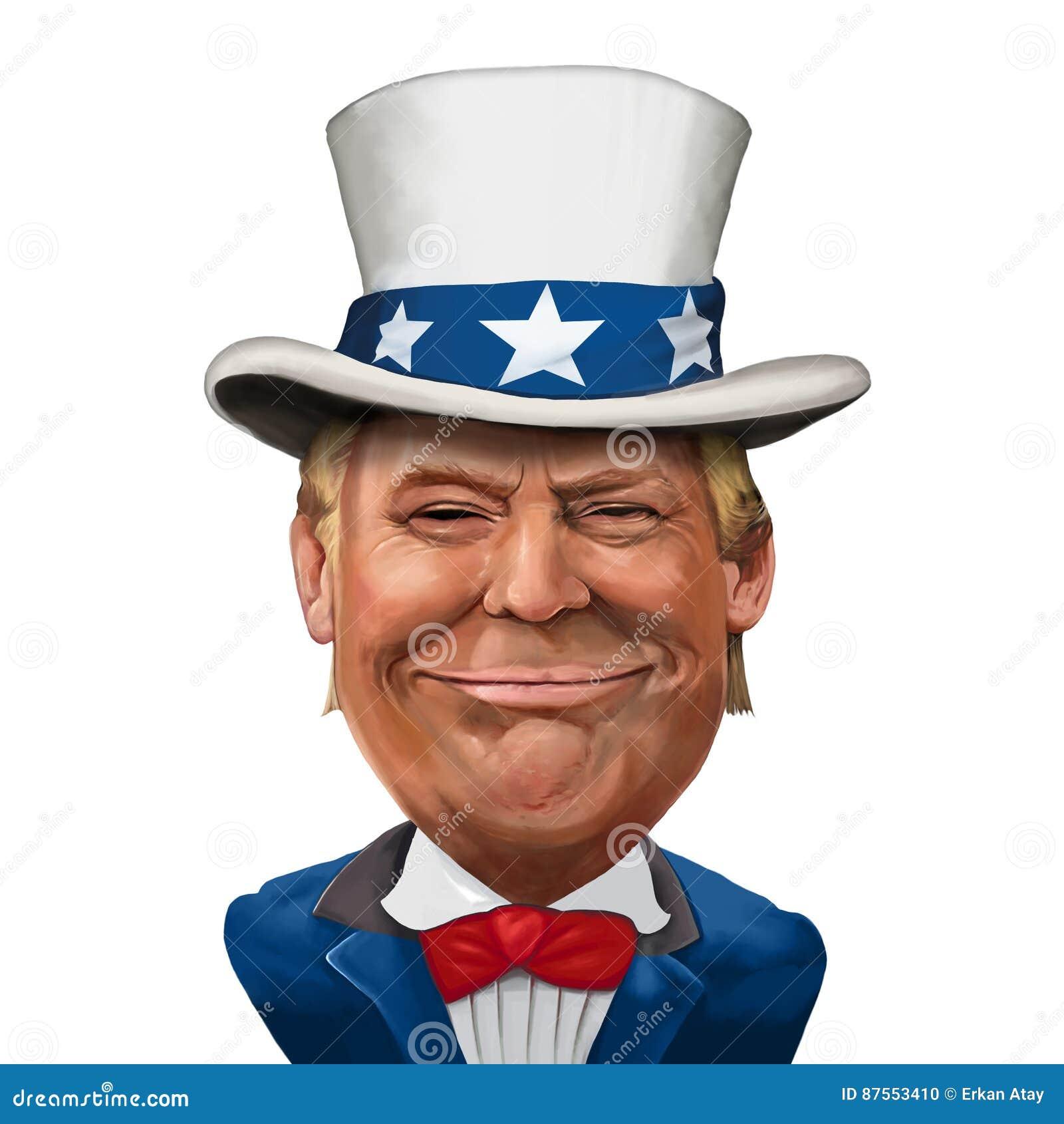Donald atutu ilustracja