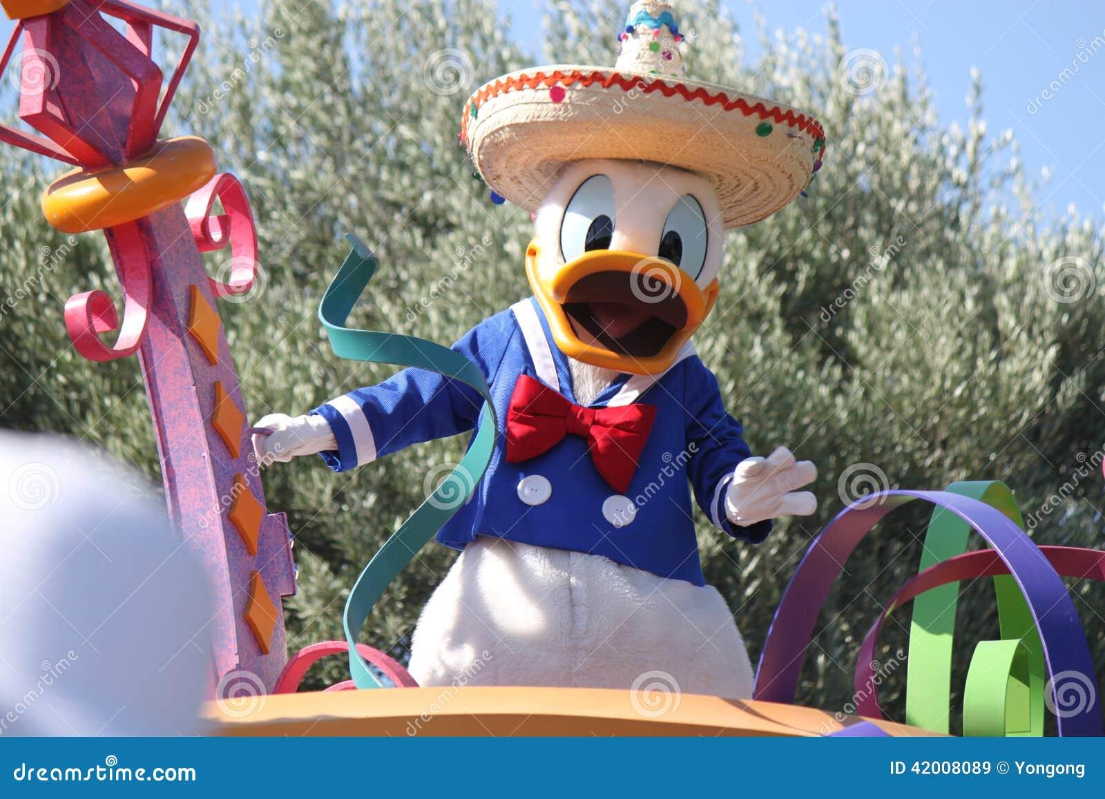 Donald Duck de Disneyland California