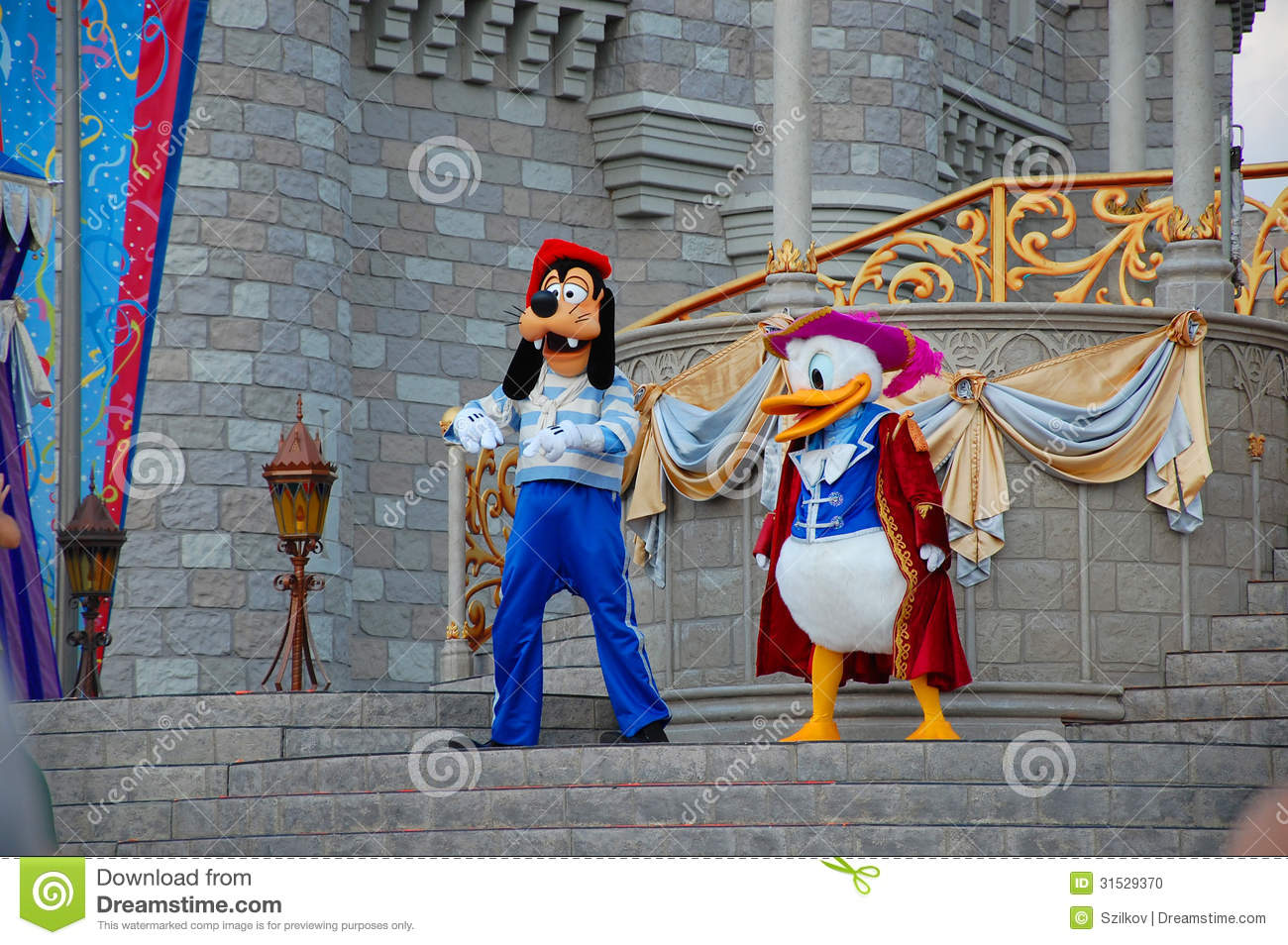 Donald and Goofy