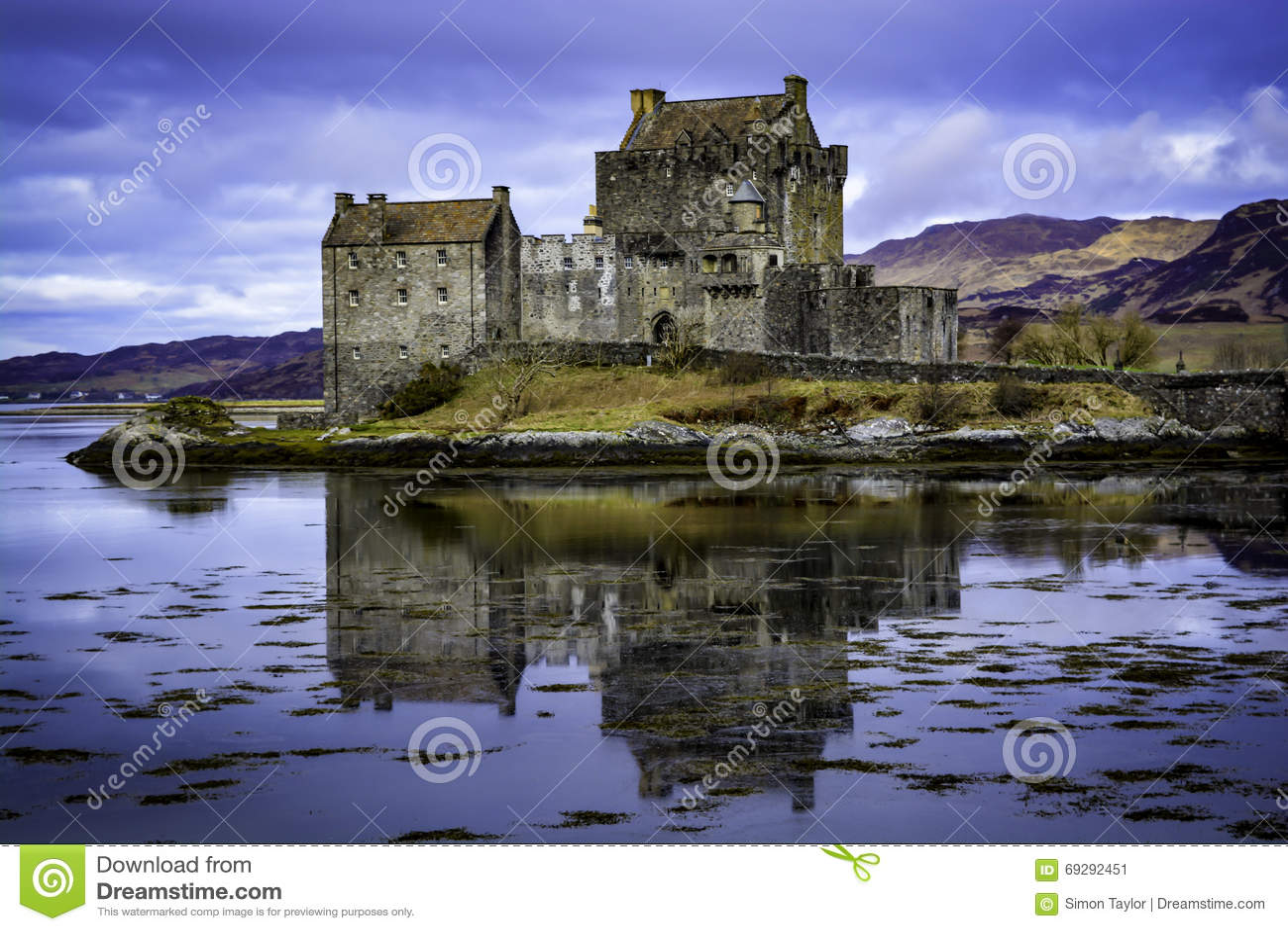 Donan eilean för slott