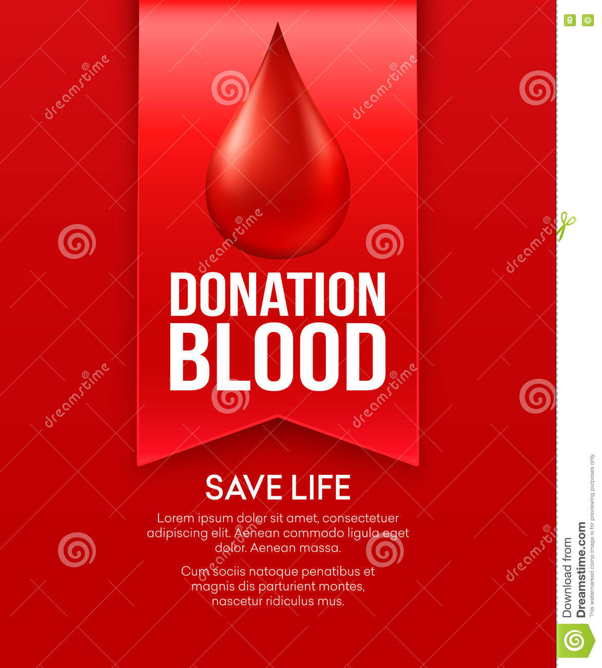 Poster Design For Blood Donation Camp