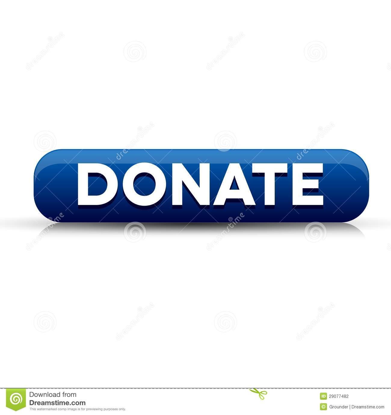 The gallery for --> Blue Donate Button