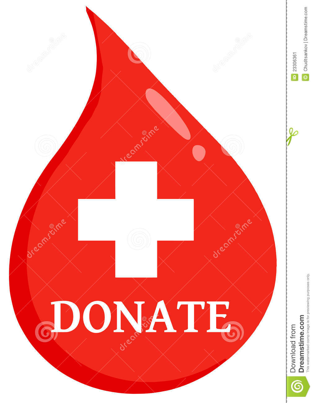 Donate First Aid Blood Drop Stock Image - Image: 23306361