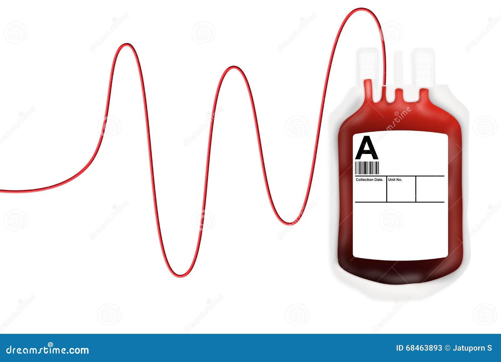 Donation de sac de sang