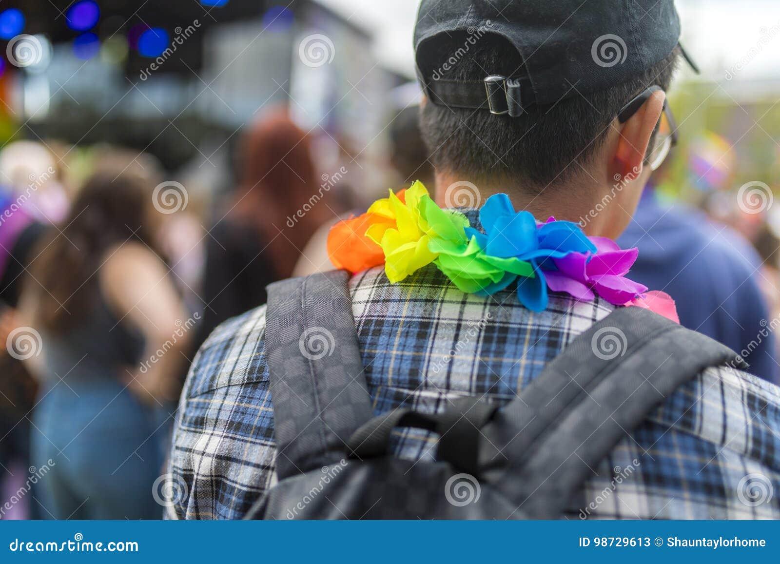 Doncaster orgulho festival do 19 de agosto de 2017 LGBT, chuva Leis